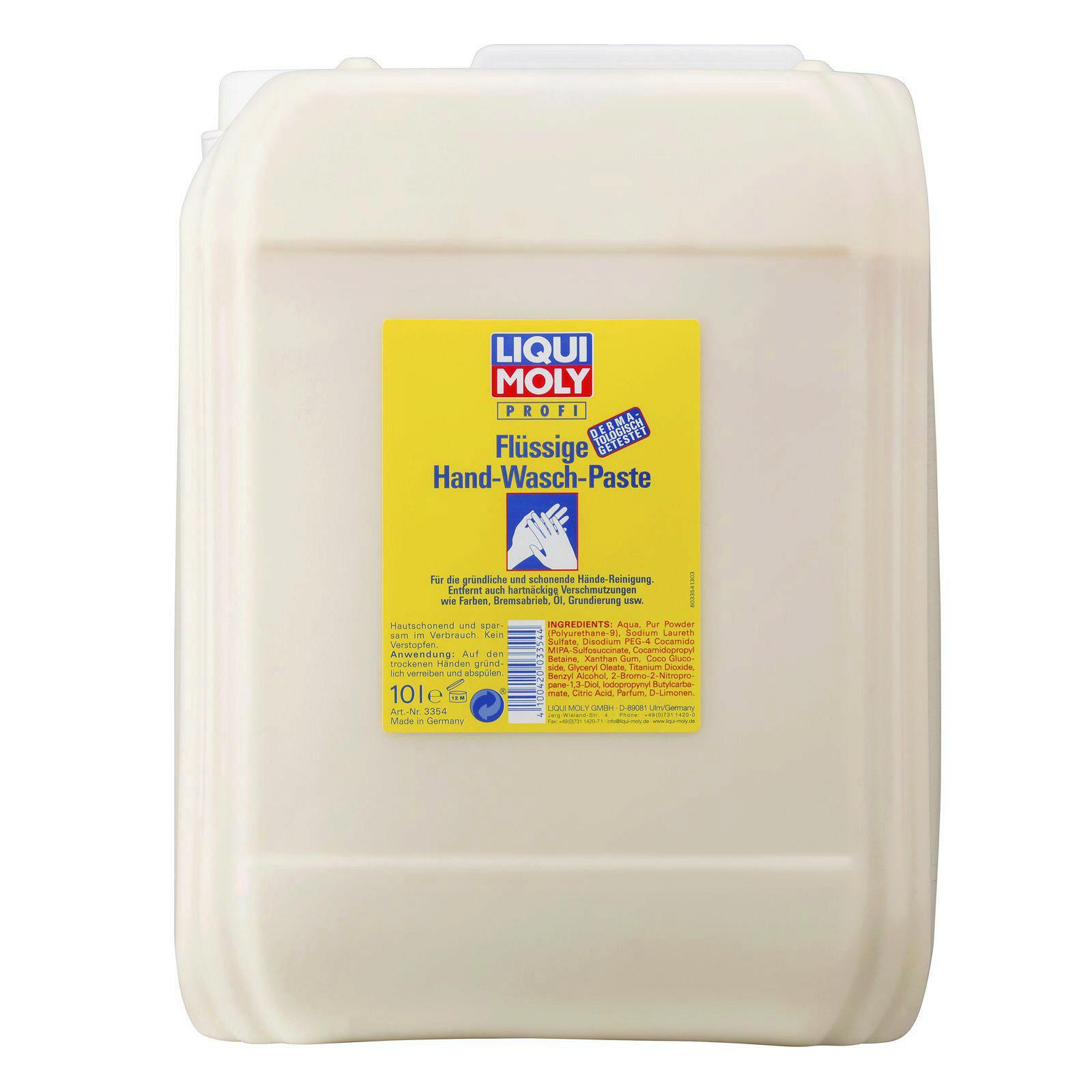 Liqui Moly Flüssige Hand-Wasch-Paste 10l