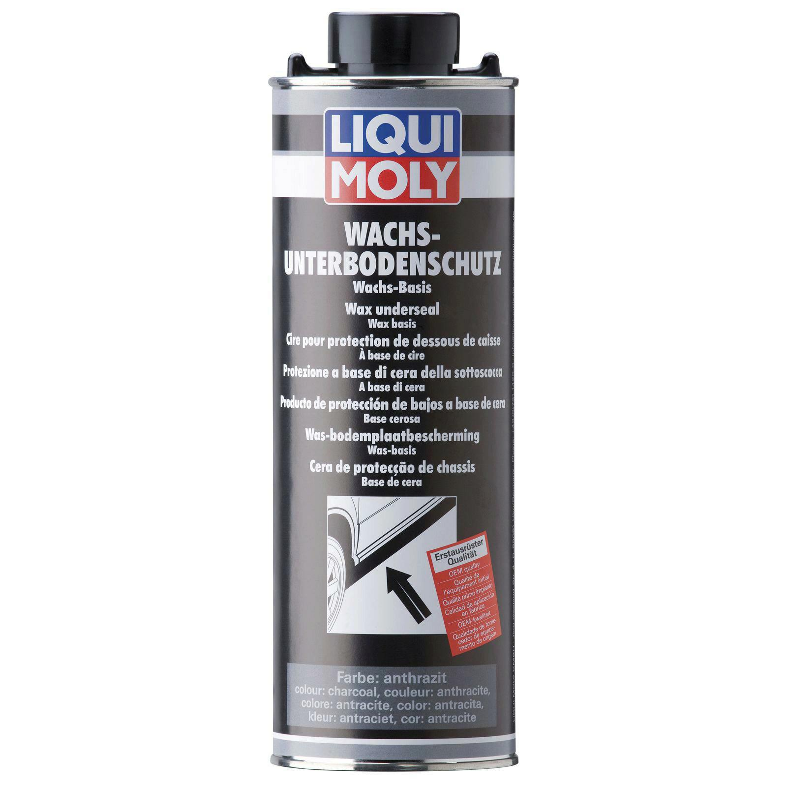 Liqui Moly Wachs-Unterbodenschutz anthrazit/schwarz 1l