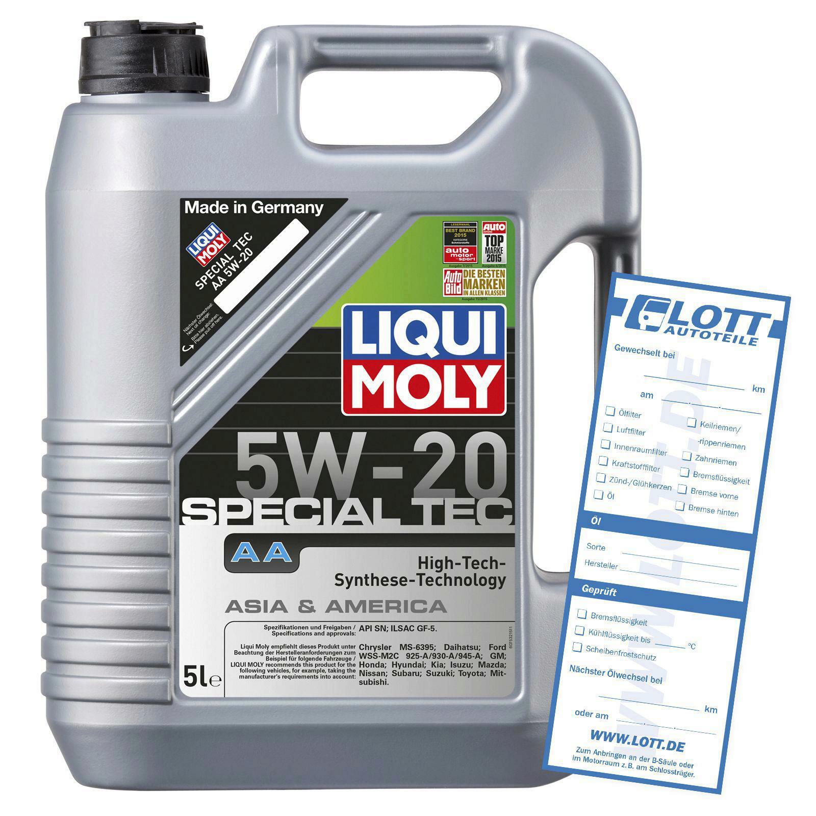 Liqui Moly Special Tec AA 5W-20 5l