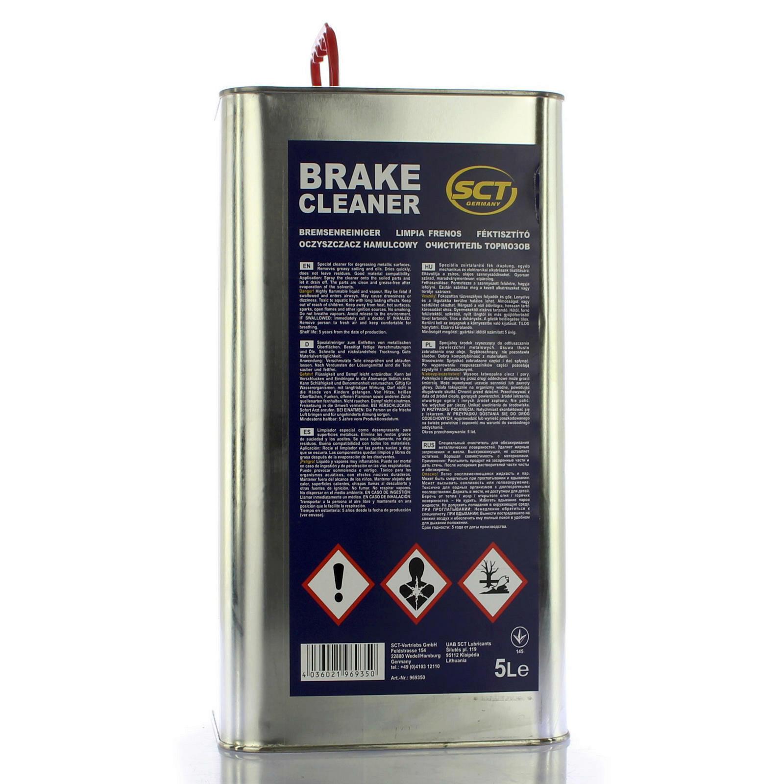 5 Liter Mannol Bremsenreiniger