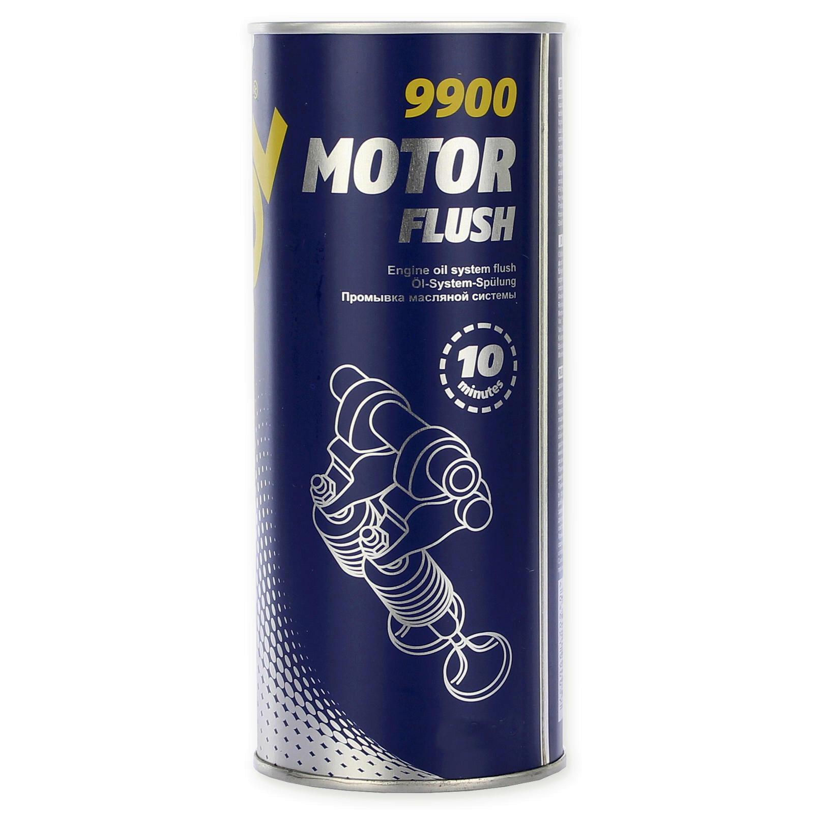 Mannol Motorspülung 350ml löst Schlamm, Rückstände & Verschmutzungen 10 Minuten