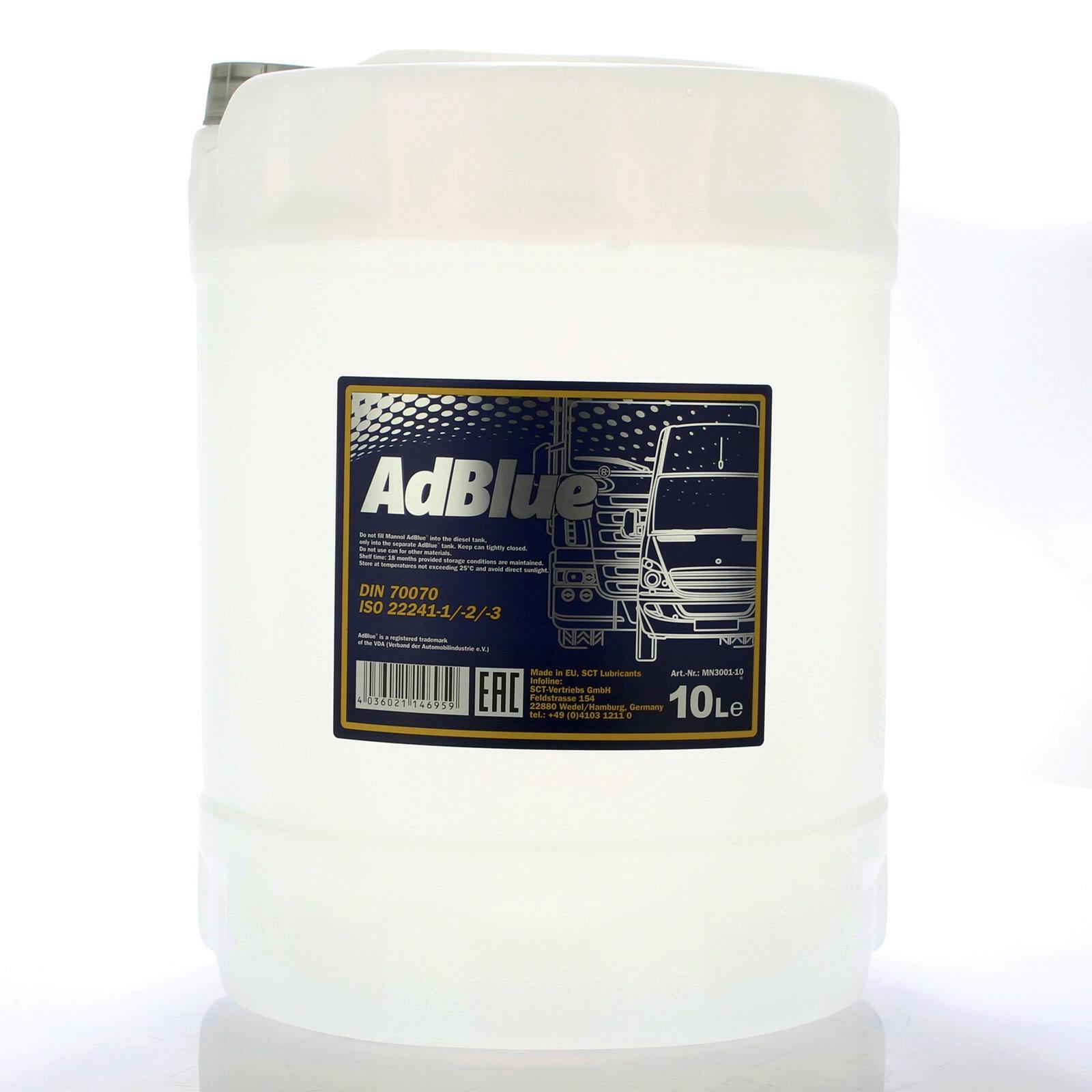 Adblue Dieseladditiv 10L