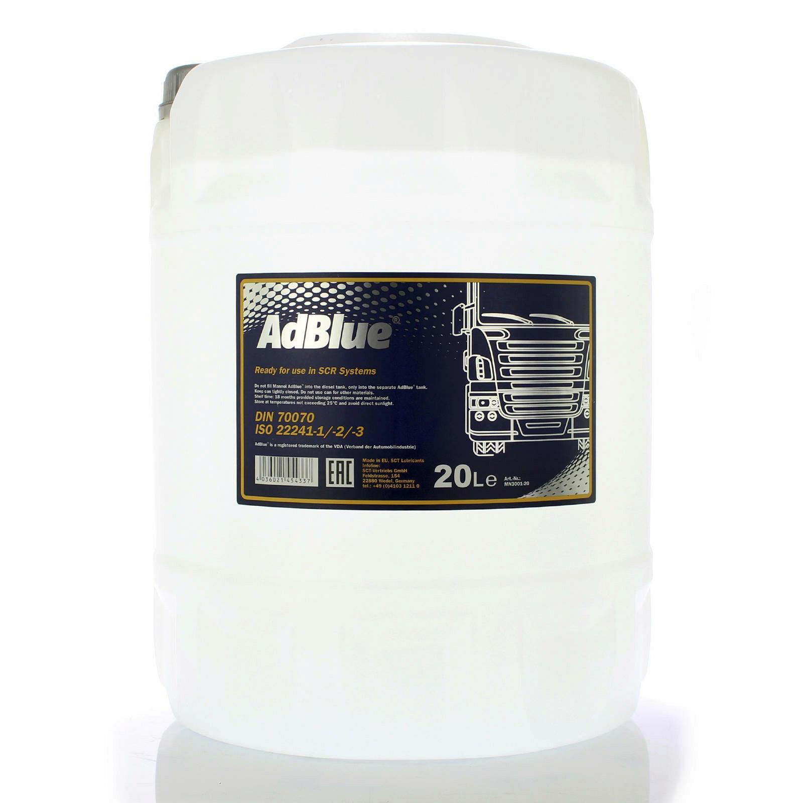 ADBLUE Dieseladditiv AD BLUE 20L