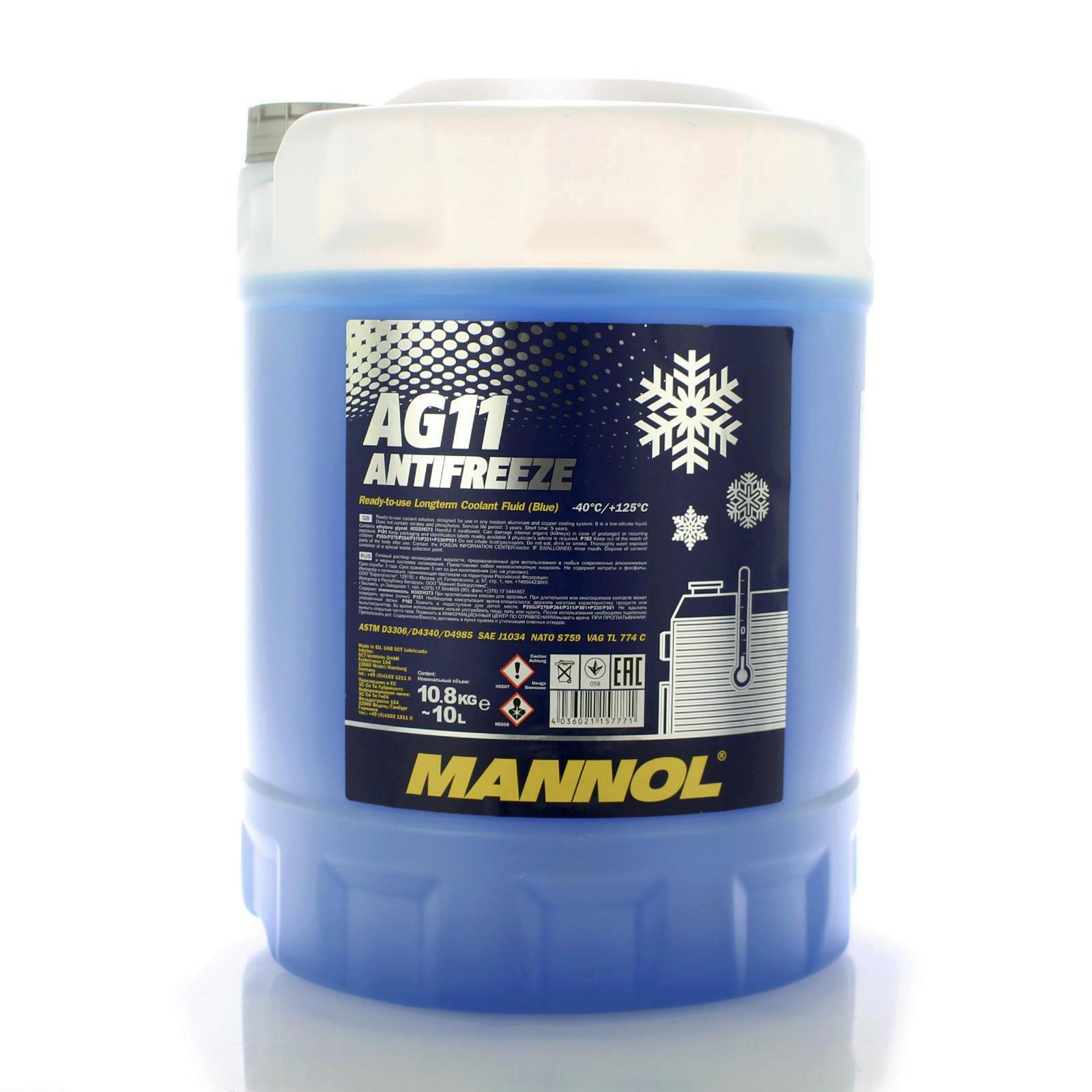 Mannol Frostschutz AG11 10L