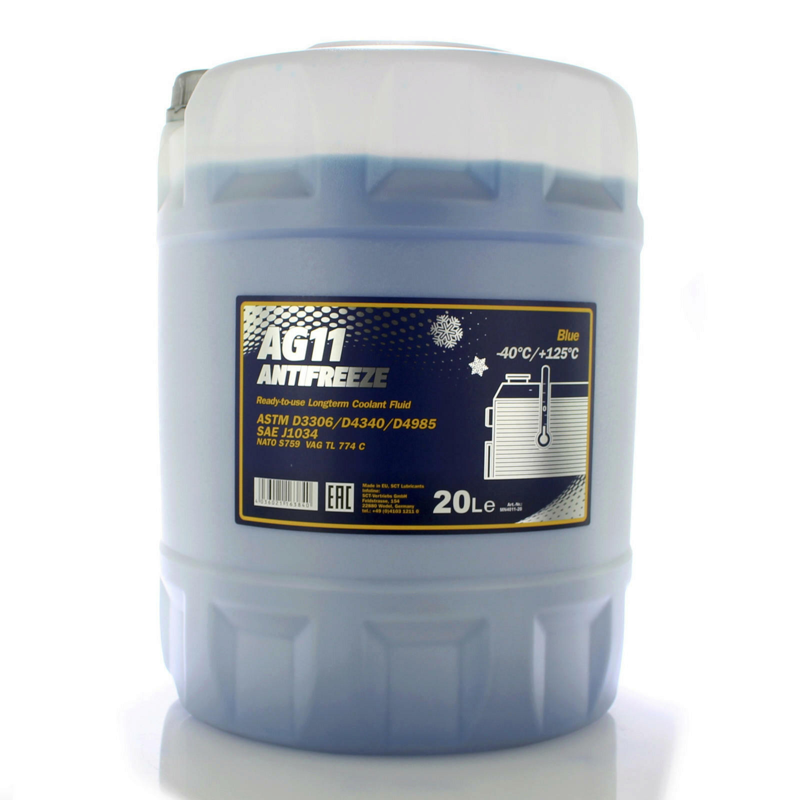 Mannol Frostschutz AG11 20L