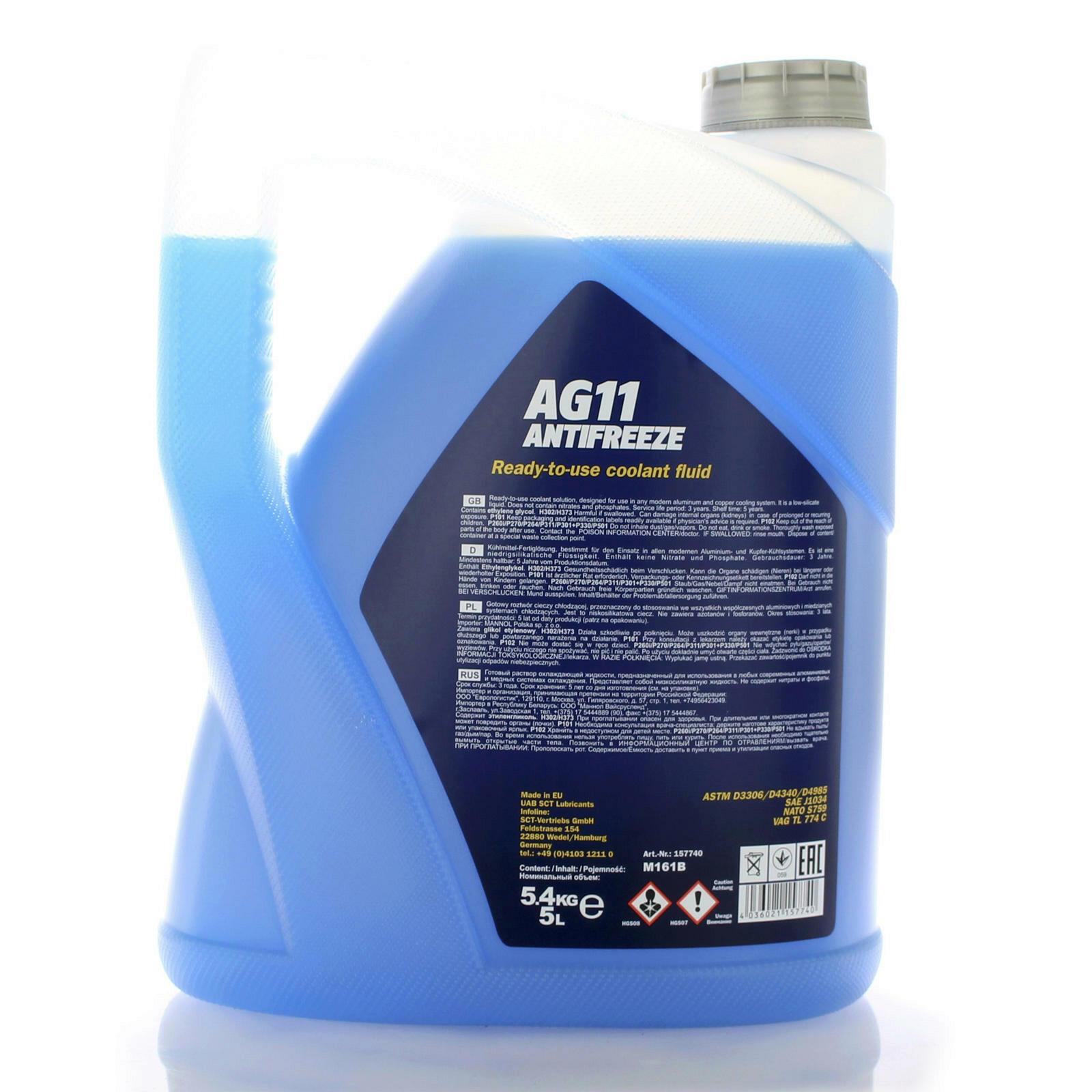 Mannol Frostschutz AG11 5L
