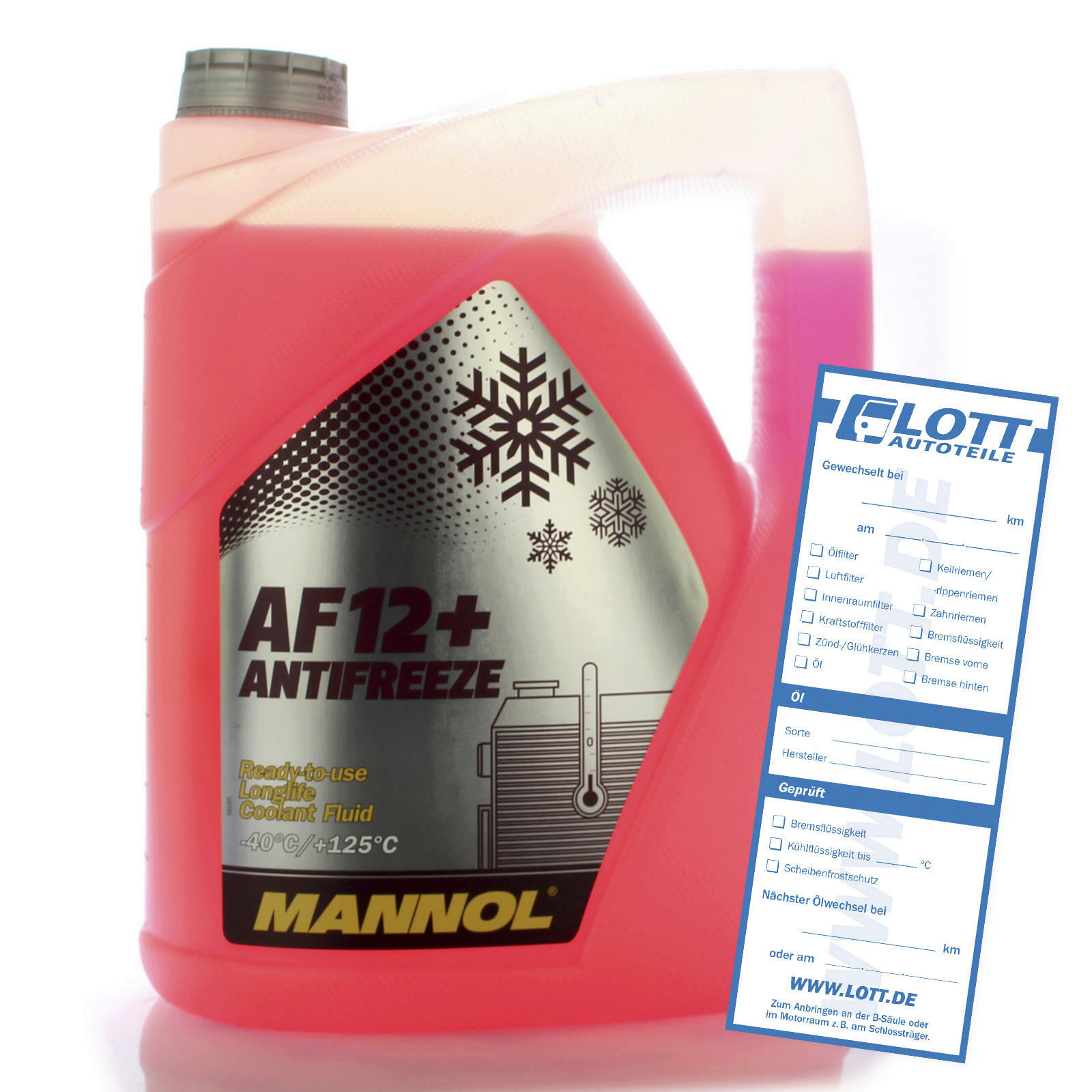 Mannol Frostschutz AF12+ 5L