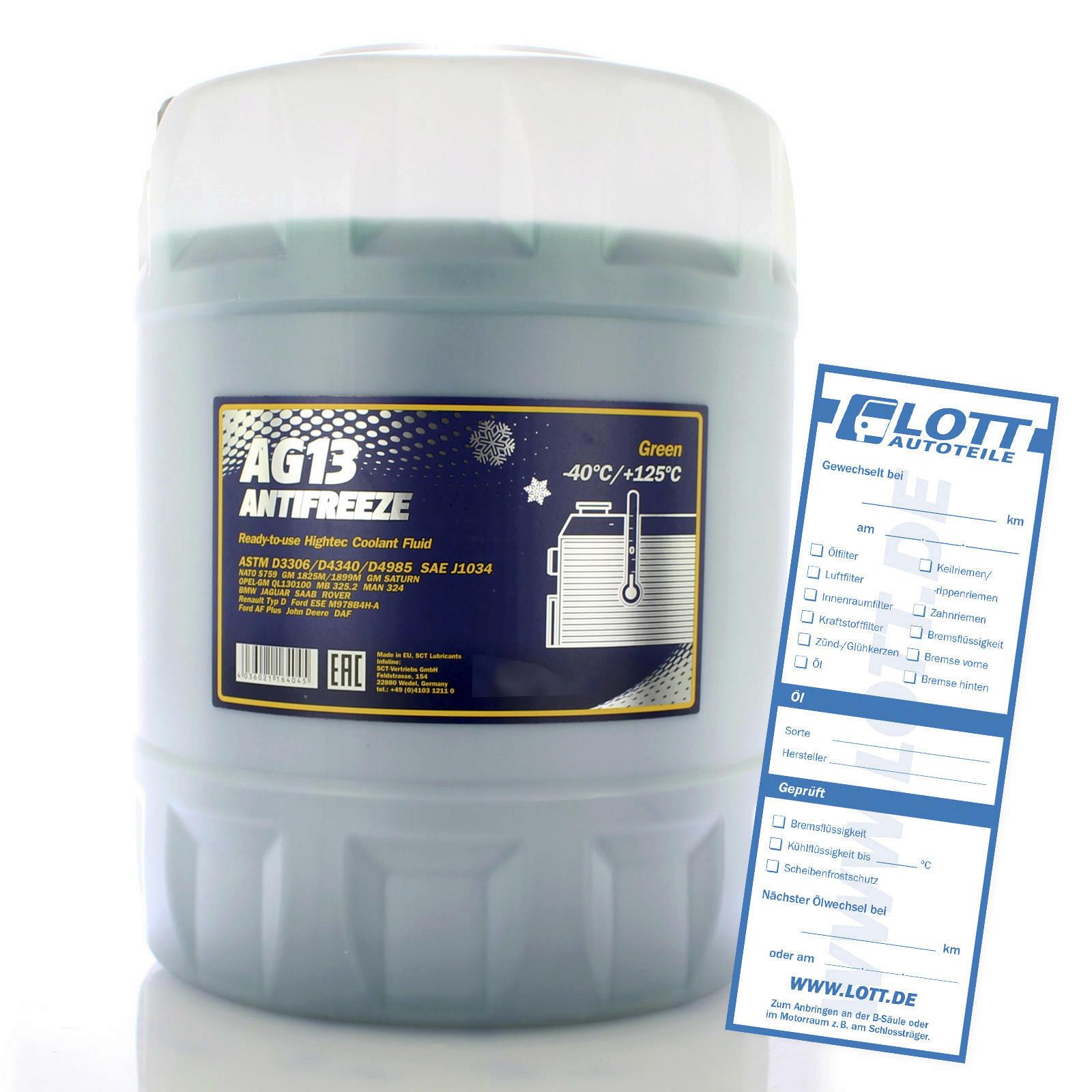 Mannol Frostschutz AG13 10L