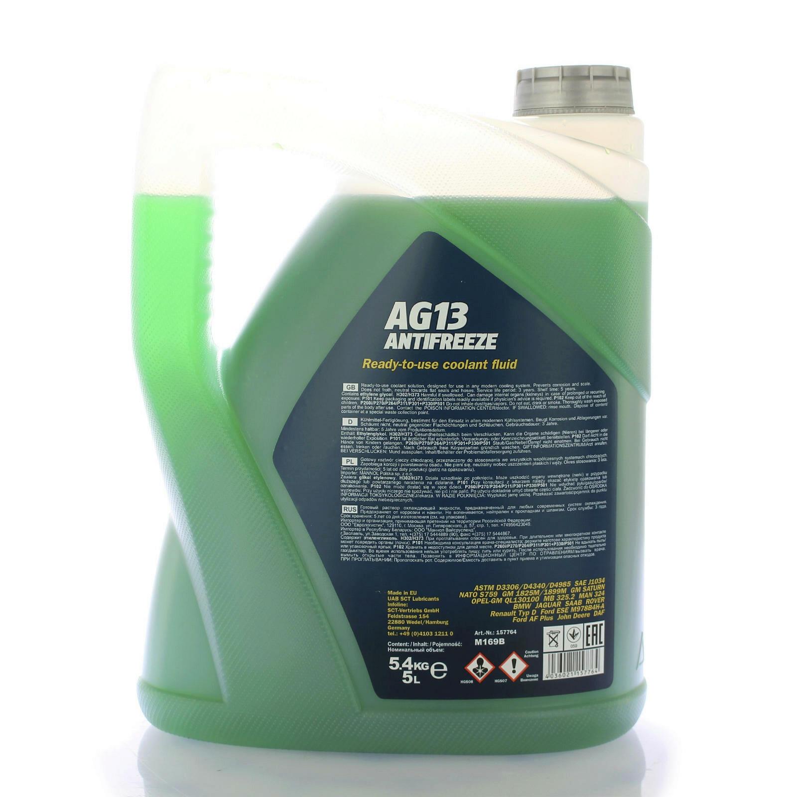 Mannol Frostschutz AG13 5L