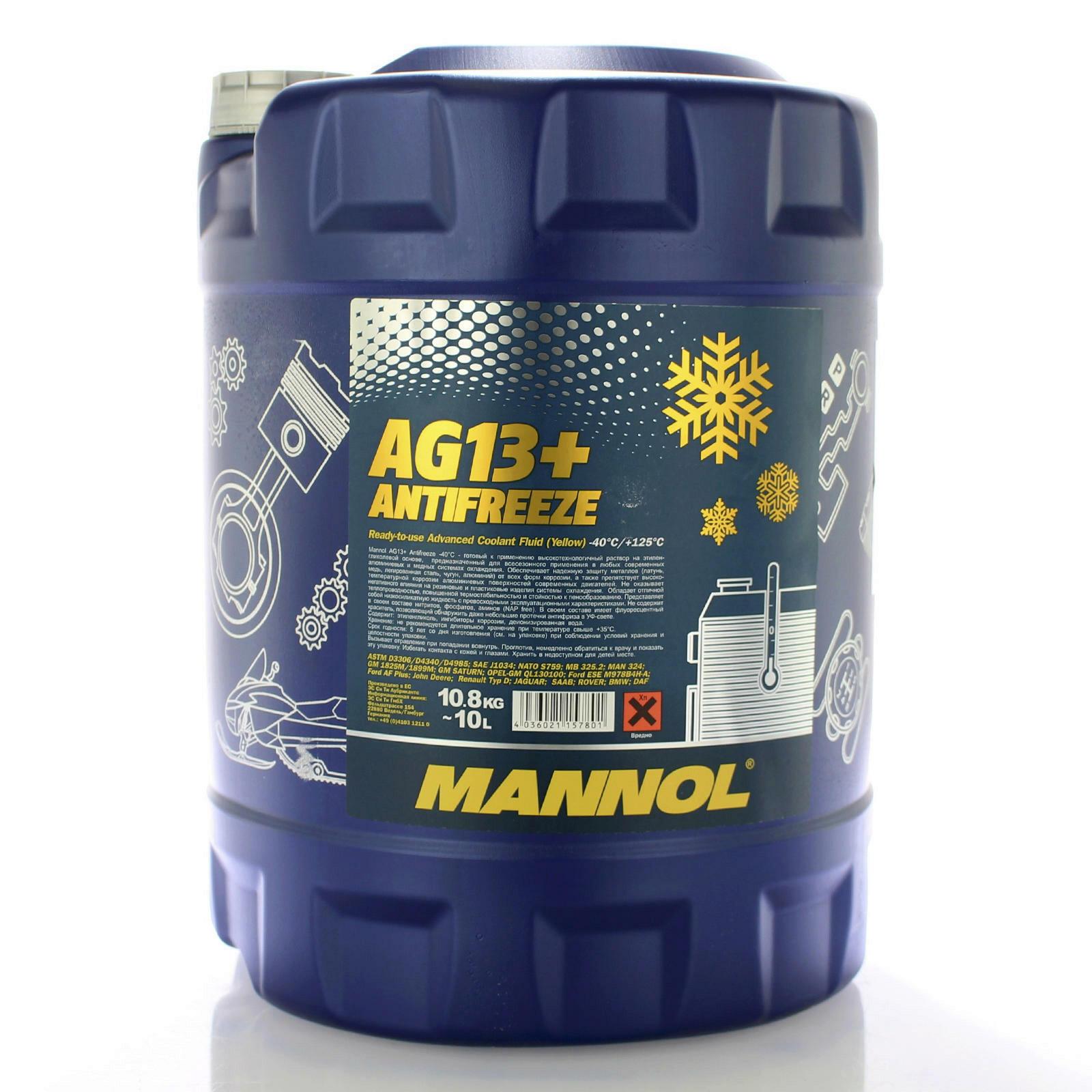 Mannol Frostschutz AG13+ 10L