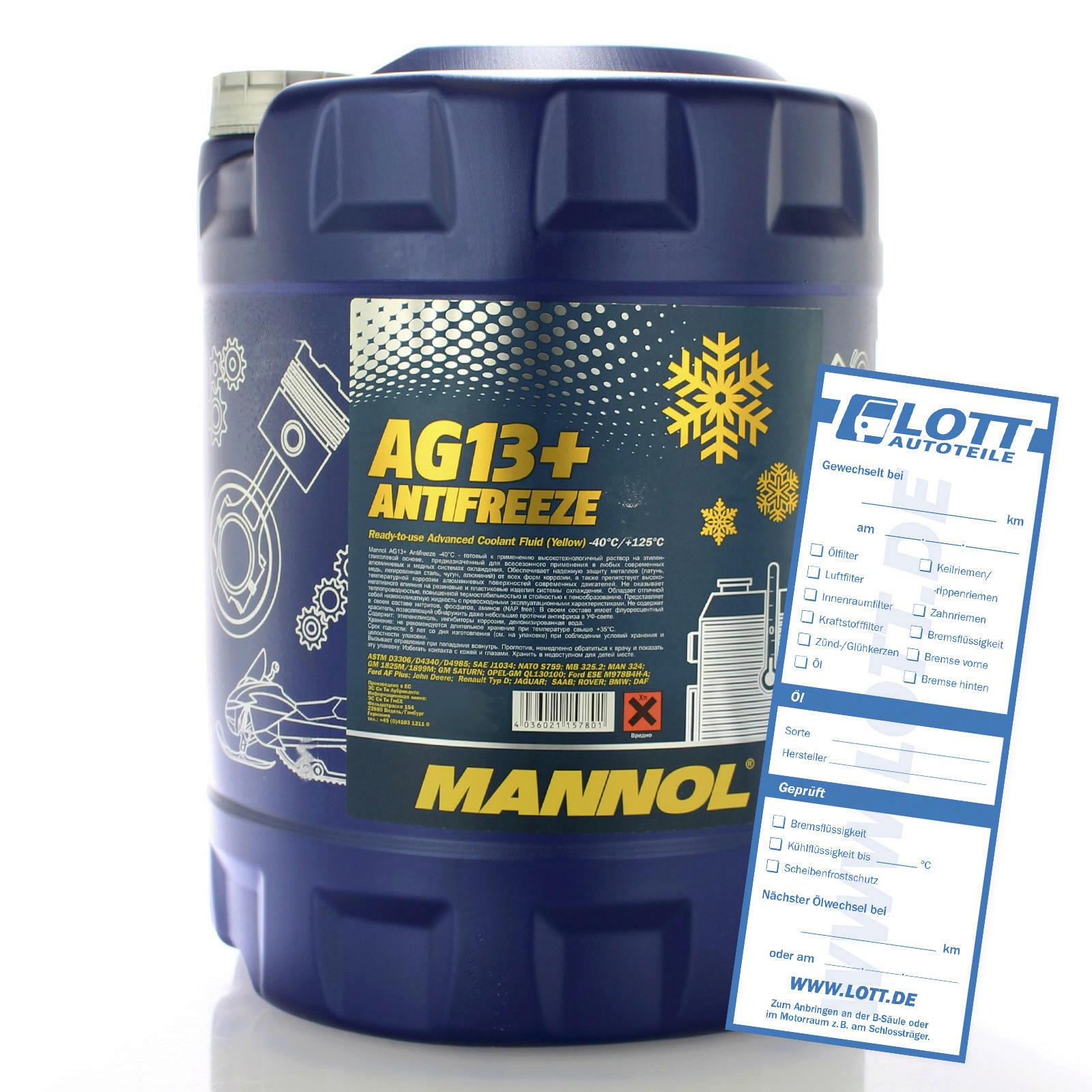 Mannol Frostschutz AG13+ 20L