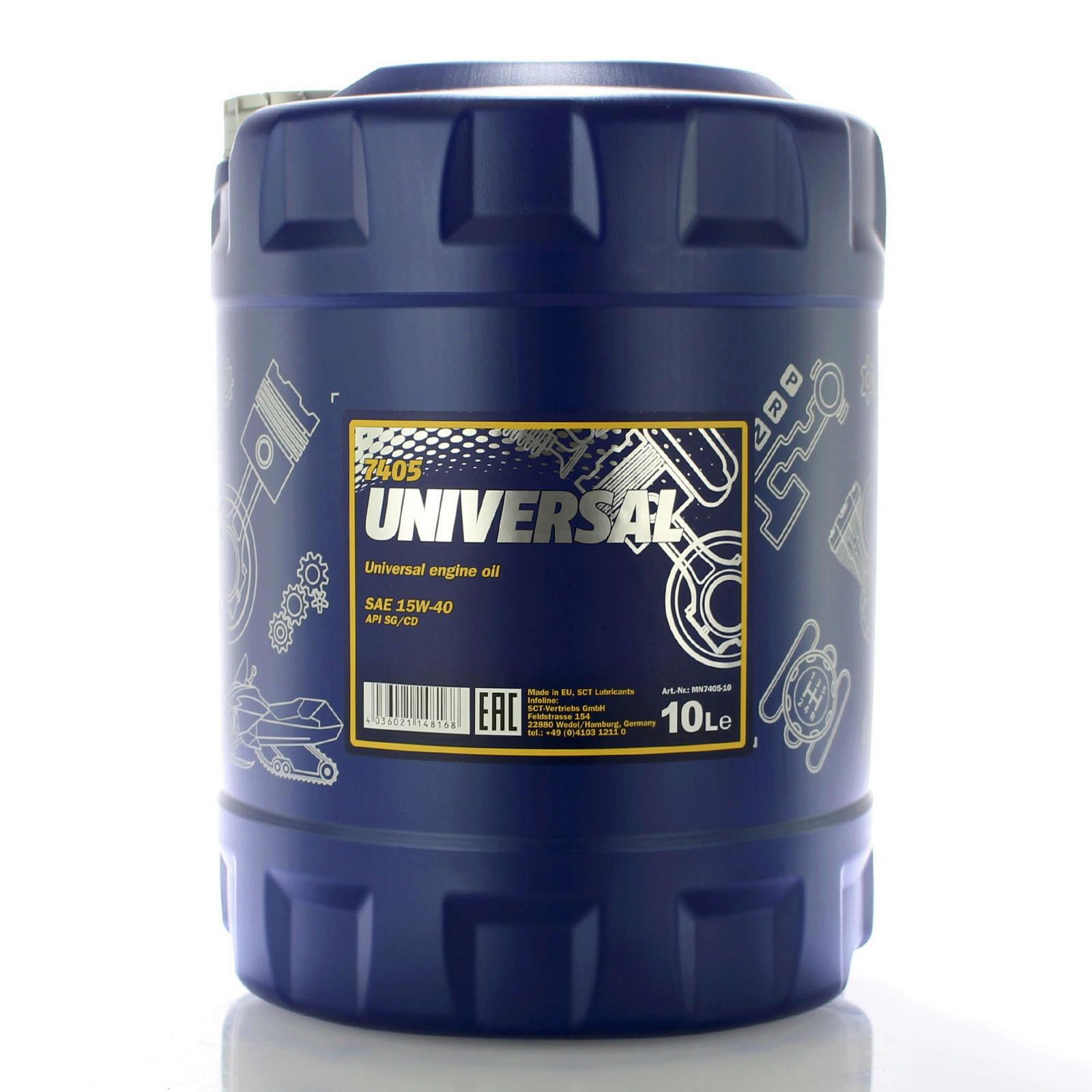 Mannol Universal 15W-40 10L