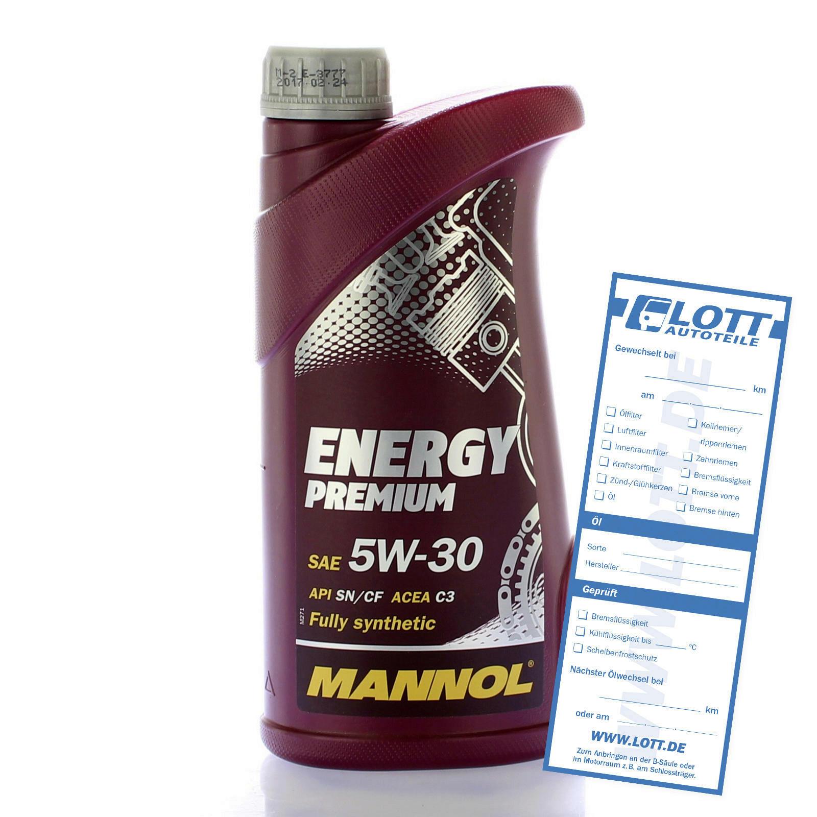 1 Liter Mannol MN7908 Energy Premium 5W-30