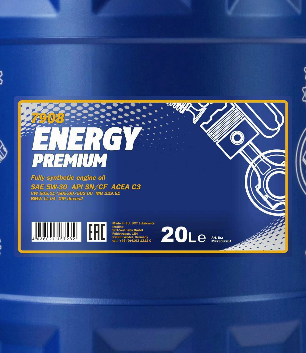 20 Liter MN Energy Premium 5W-30