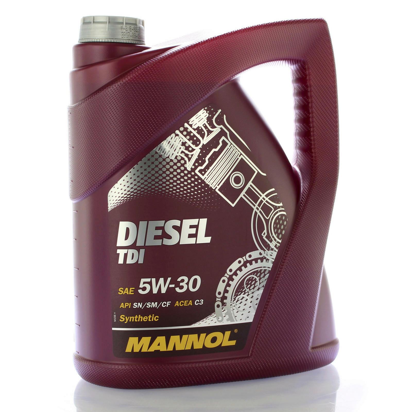 mannol mn7909 5 motor l diesel tdi 5w 30 motoren l 5l f r. Black Bedroom Furniture Sets. Home Design Ideas