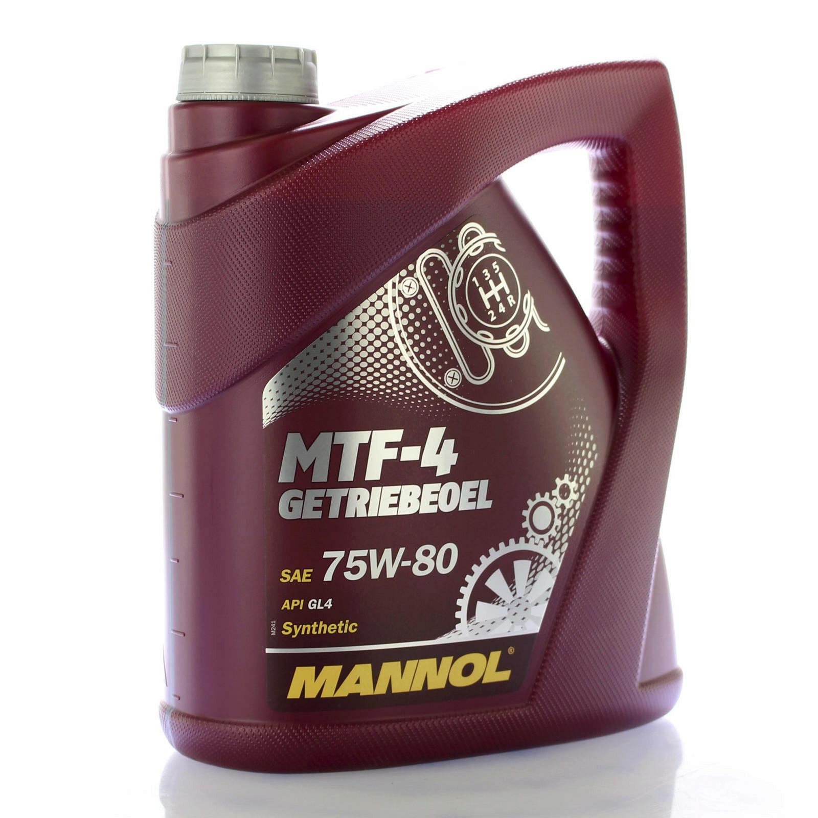 4L Mannol MTF-4 Getriebeöl 75W-80
