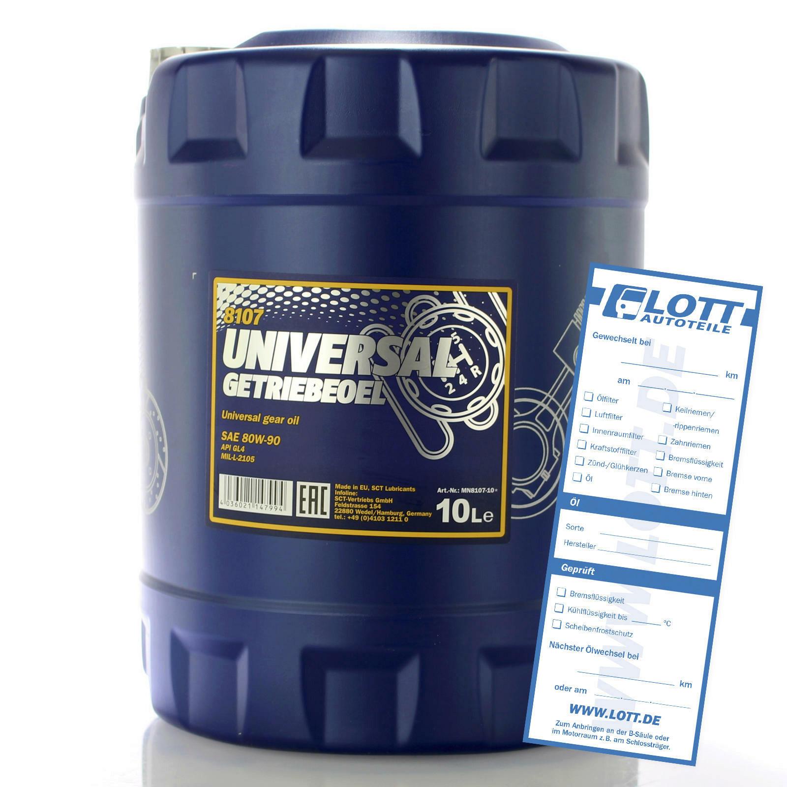 Mannol Universal Getriebeöl 10L