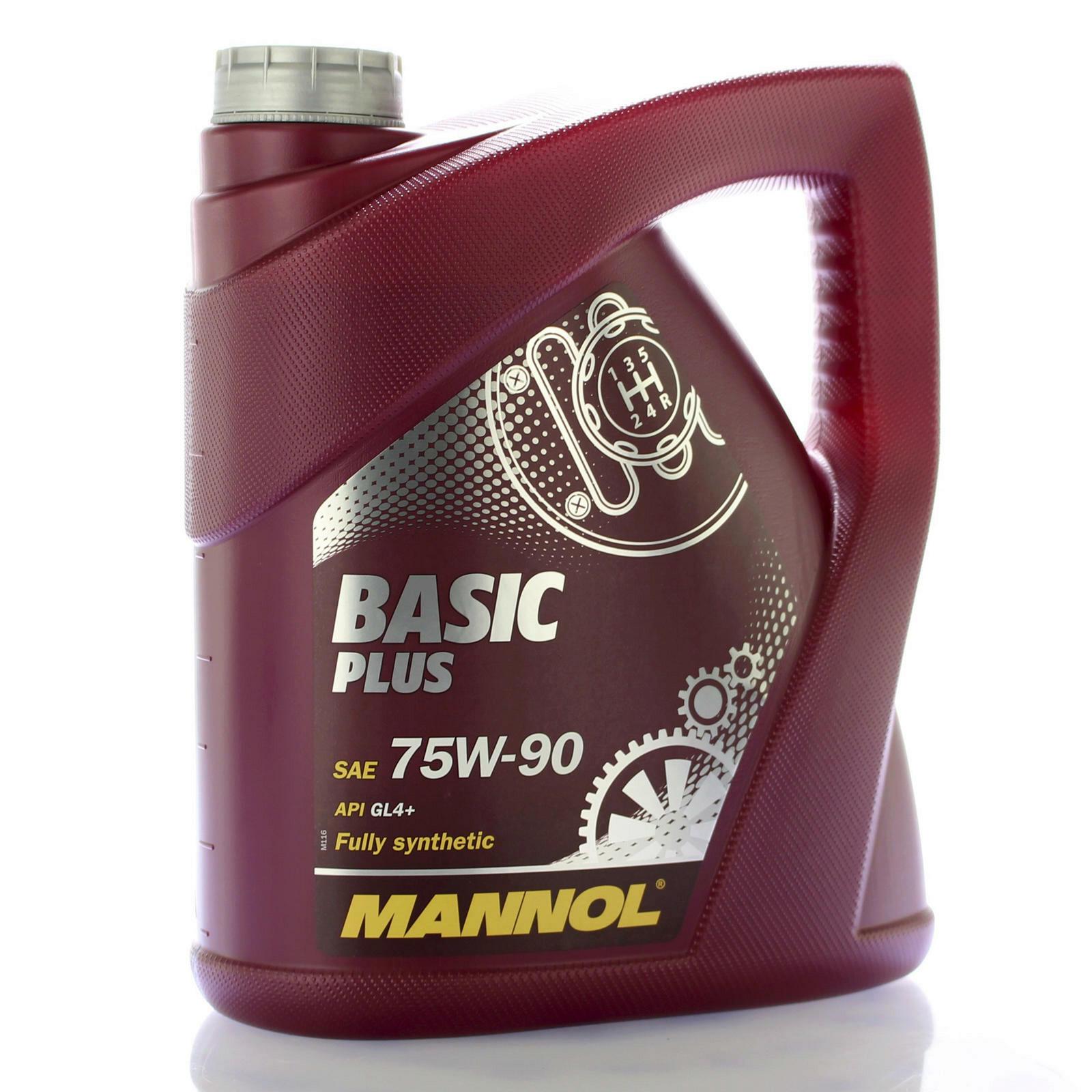 Mannol Basic Plus Getriebeöl 4L 75W-90