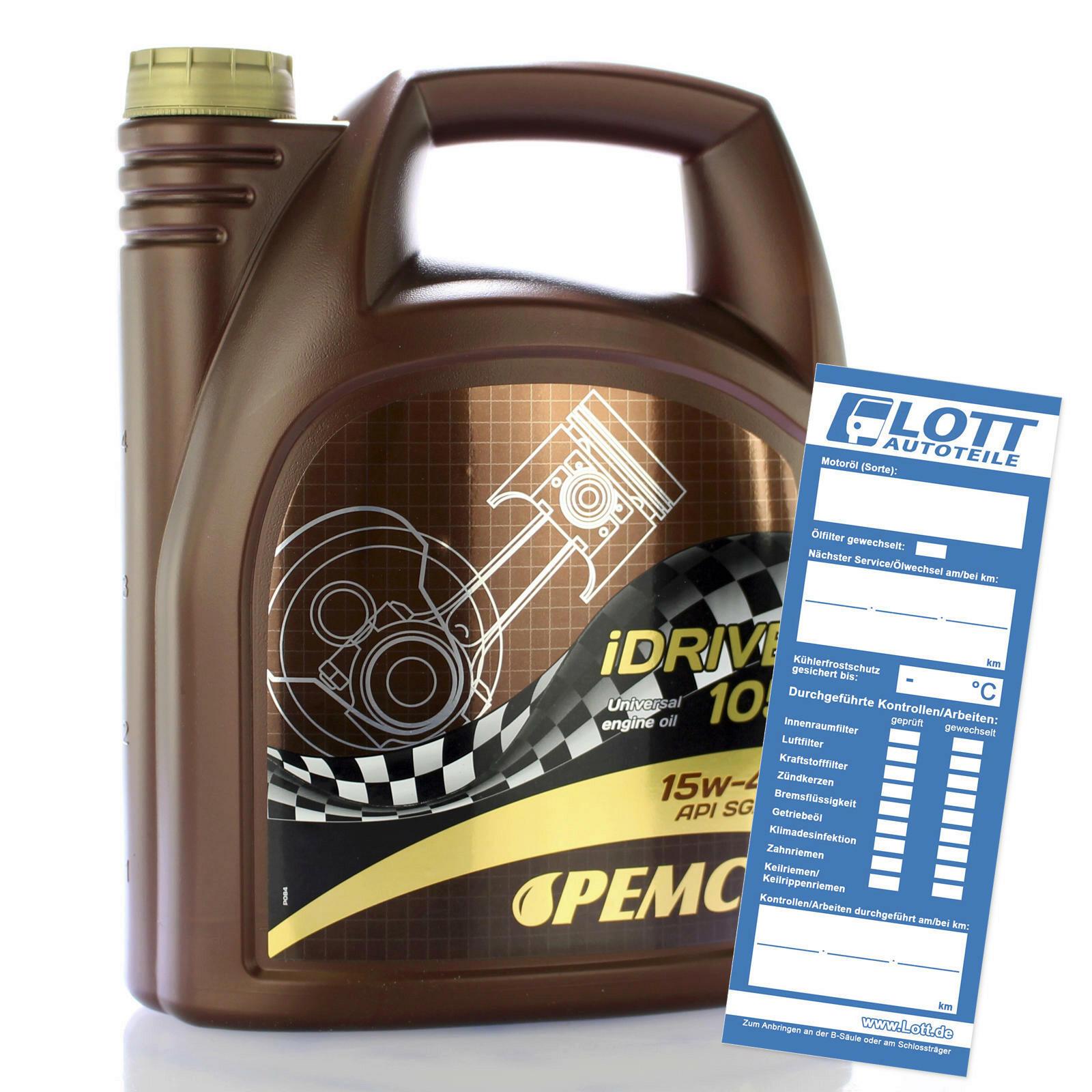 Motoröl PM iDRIVE 105 15W-40 5L