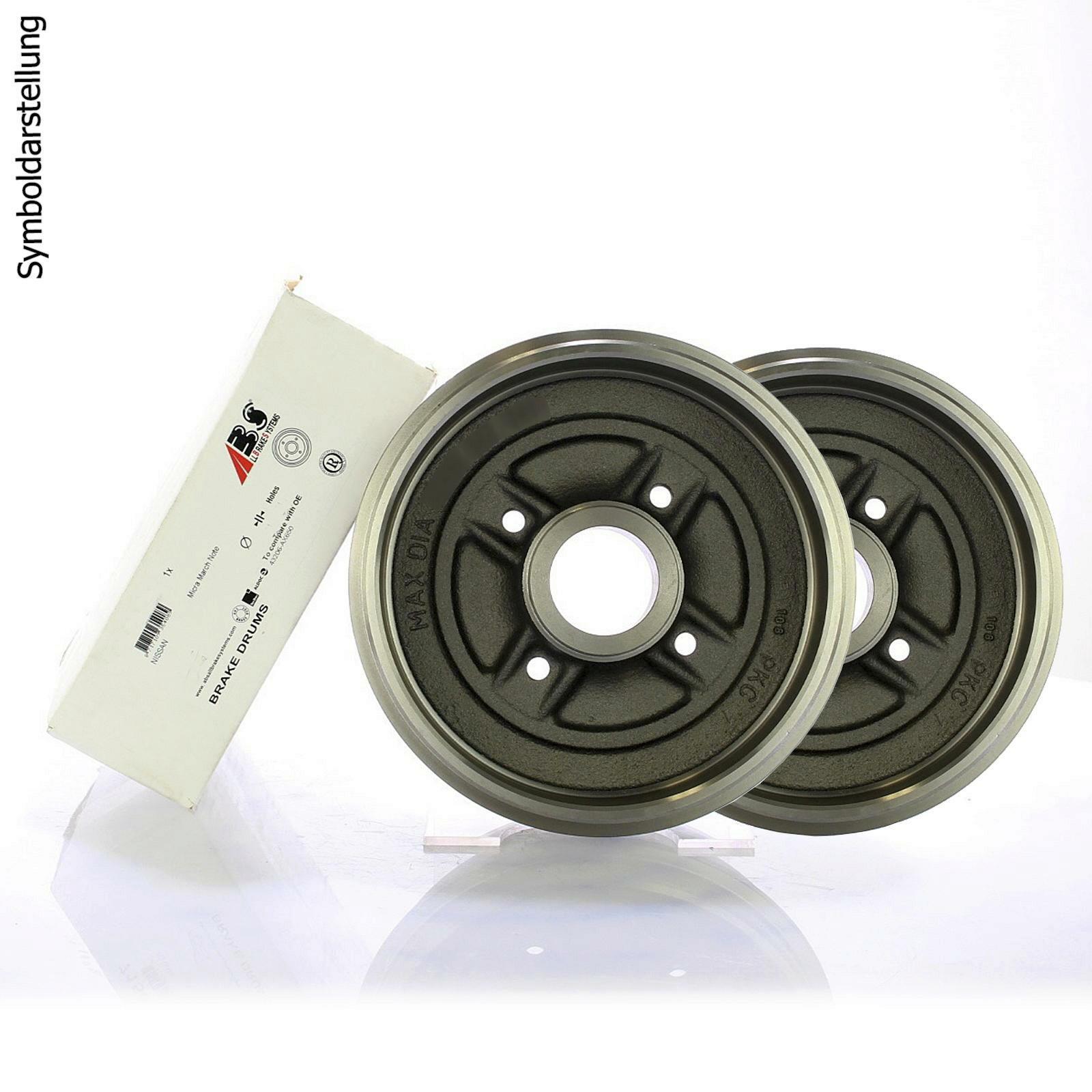 Kit de montage Bremsenset pour PEUGEOT 206//avec ABS Mâchoires de frein radbremyzylinder