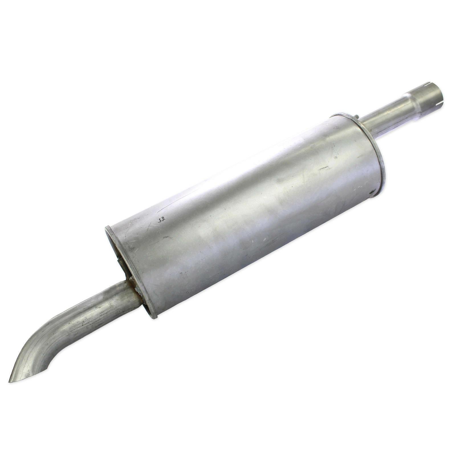 Endschalldämpfer mit Montagematerial
