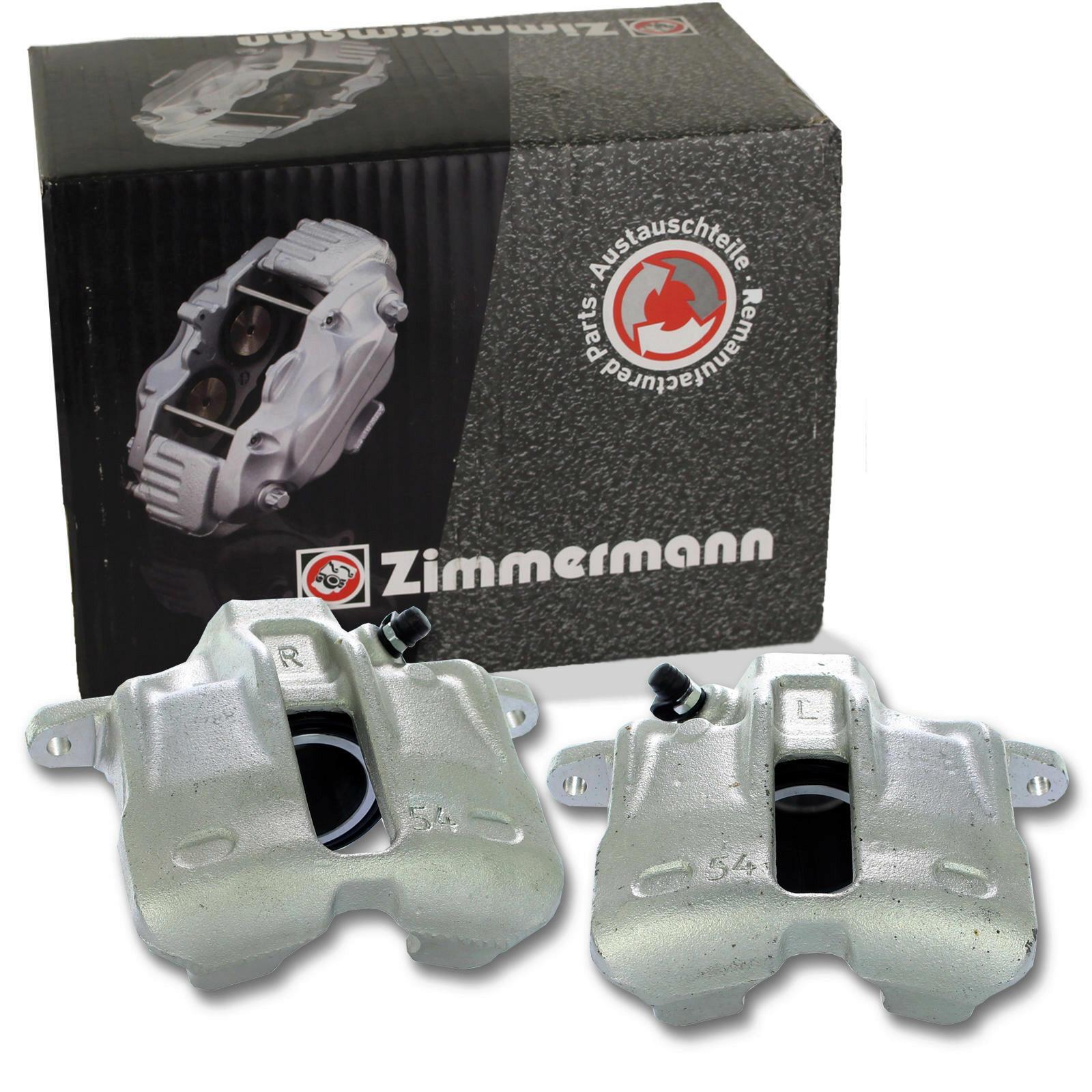 2x Zimmermann Bremssattel