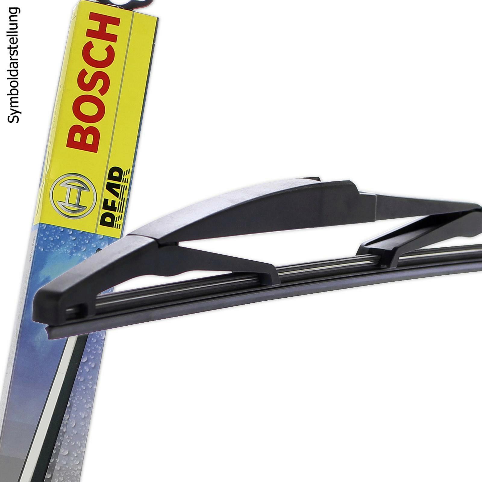 bosch scheibenwischer wischblatt set vorne hinten f r. Black Bedroom Furniture Sets. Home Design Ideas