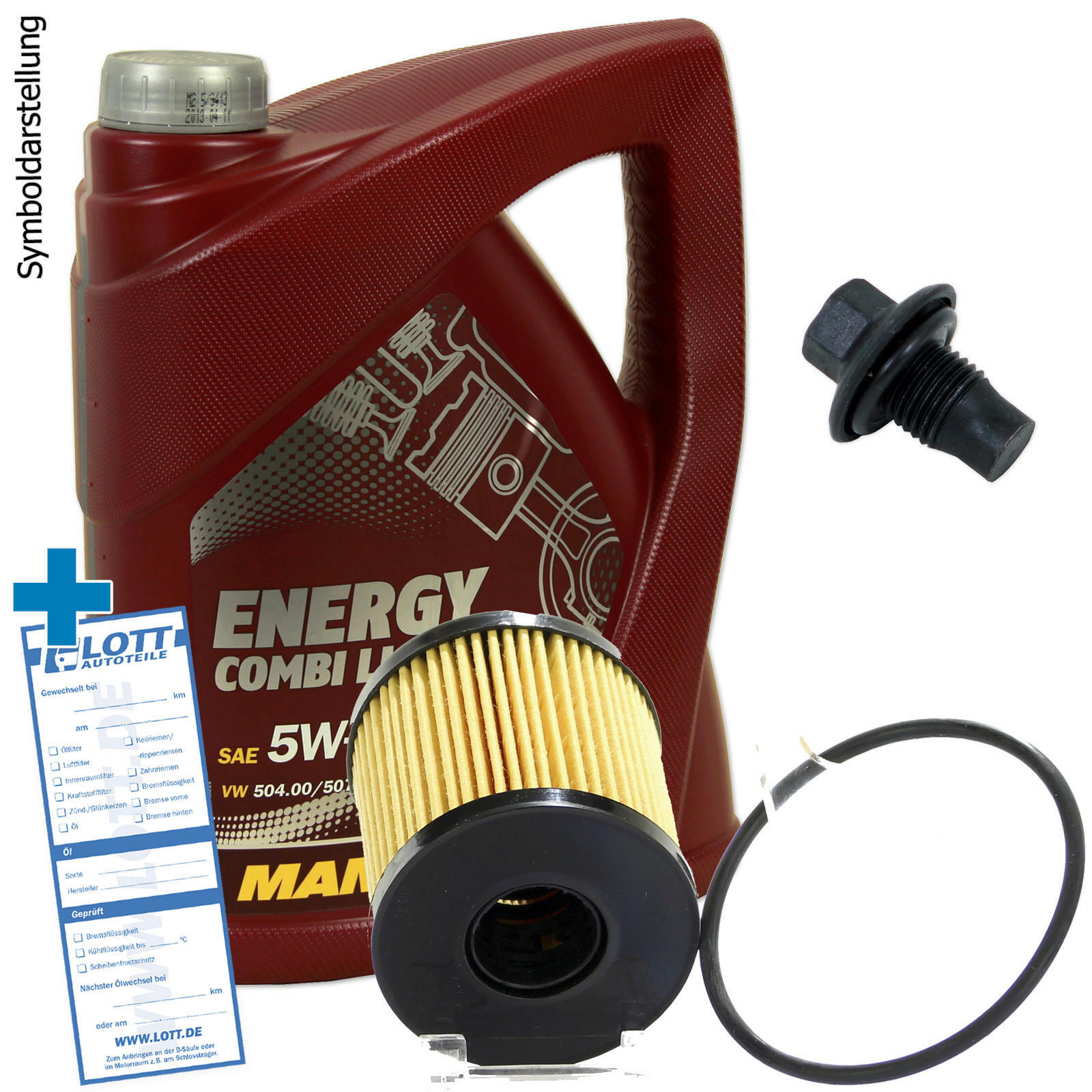 5l Mannol Energy Combi Ll 5w 30 214 L Motor 246 L Filter Schraube F 252 R Ford Peugeot Ebay