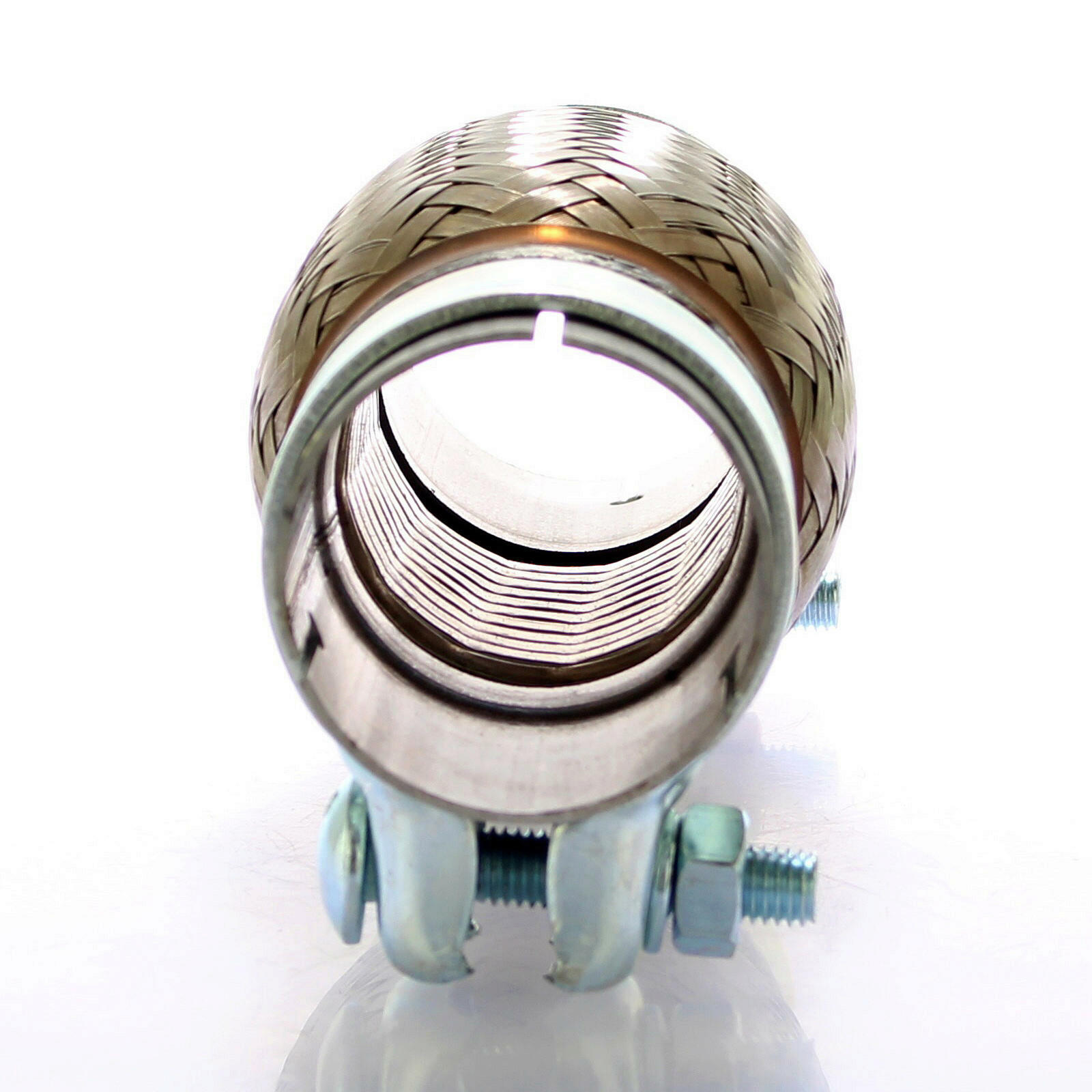 Flexrohr Set mit Bandschelle 55x100 mm