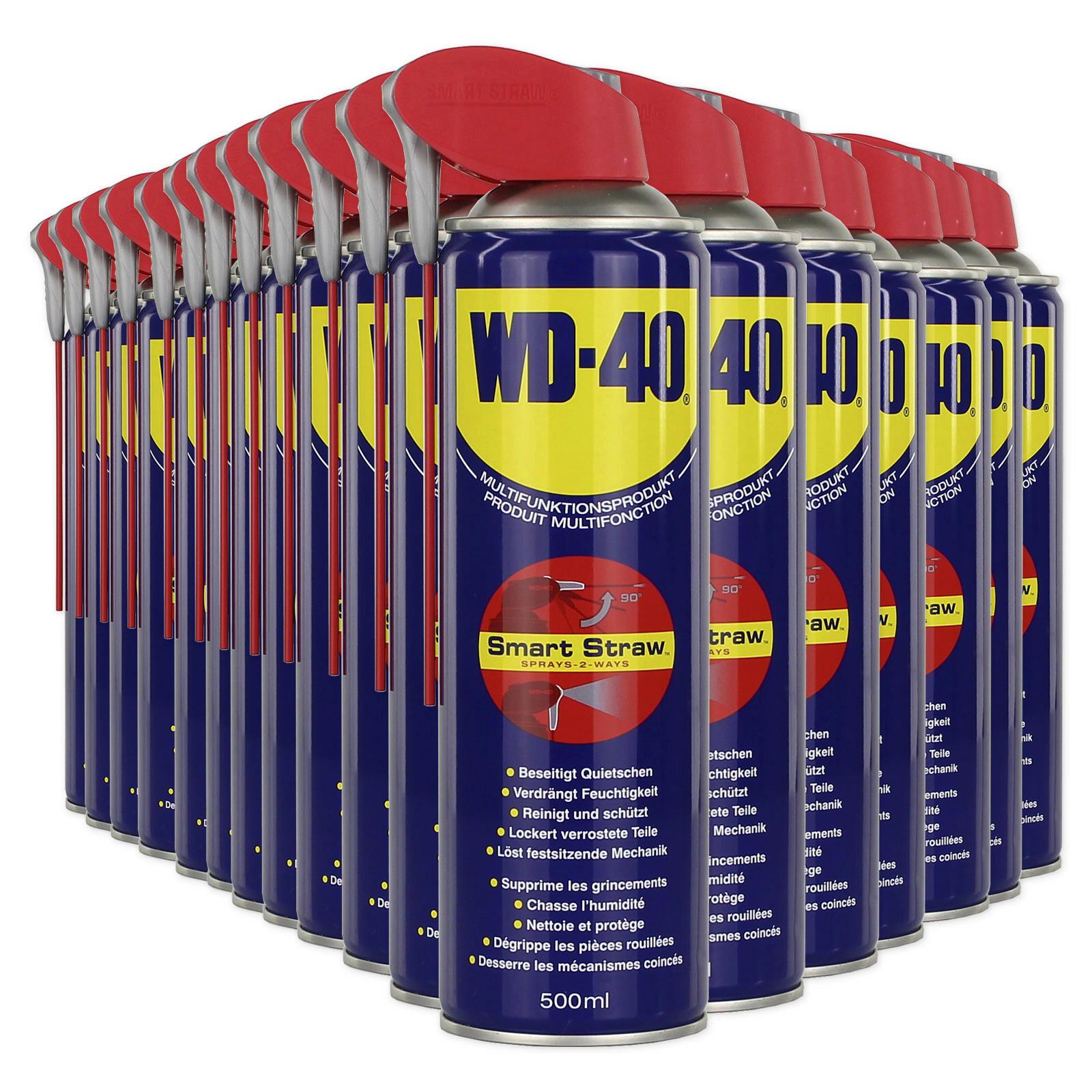 24x WD-40 Rostlöser Smart Straw 500ml