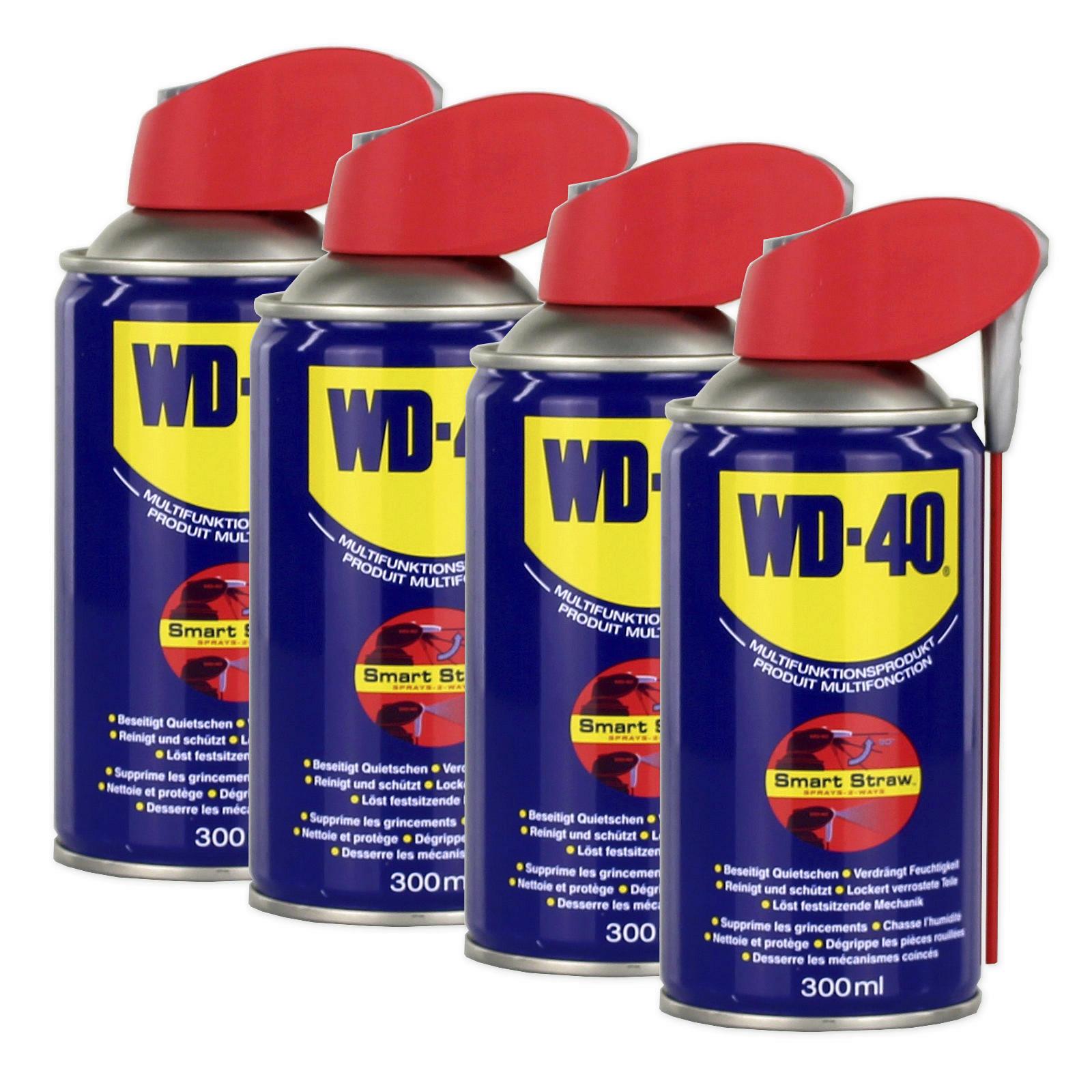 4x WD-40 Smartstraw 300 ml