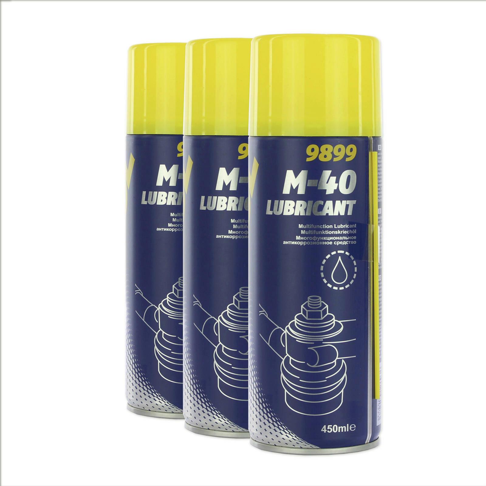3x Mannol Multifunktionsöl M-40 450ml