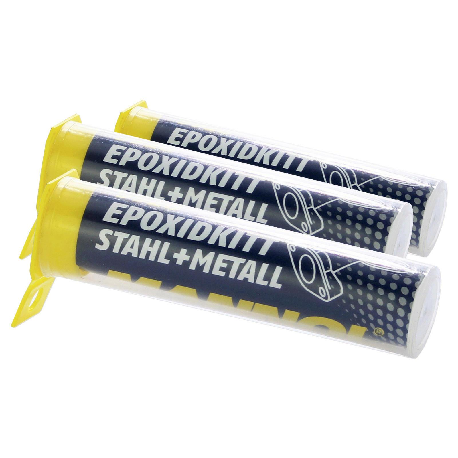 3x mannol epoxidkitt 9928 56g epoxyspachtel 2-komponentenkleber