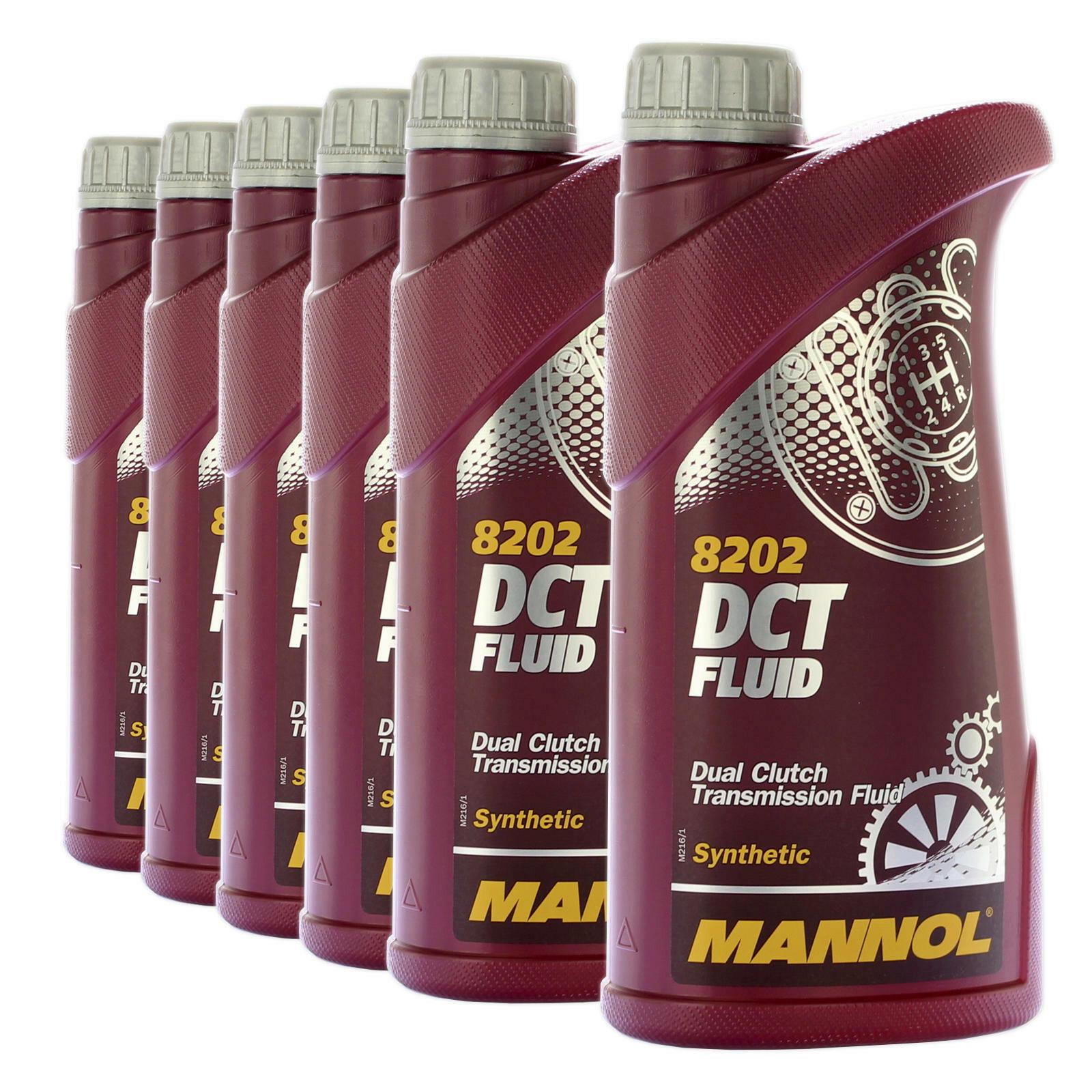 6 x 1l MANNOL DSG synthetisches Getriebeöl für VW/ Audi/ MB/ BMW/ Ford/ Volvo