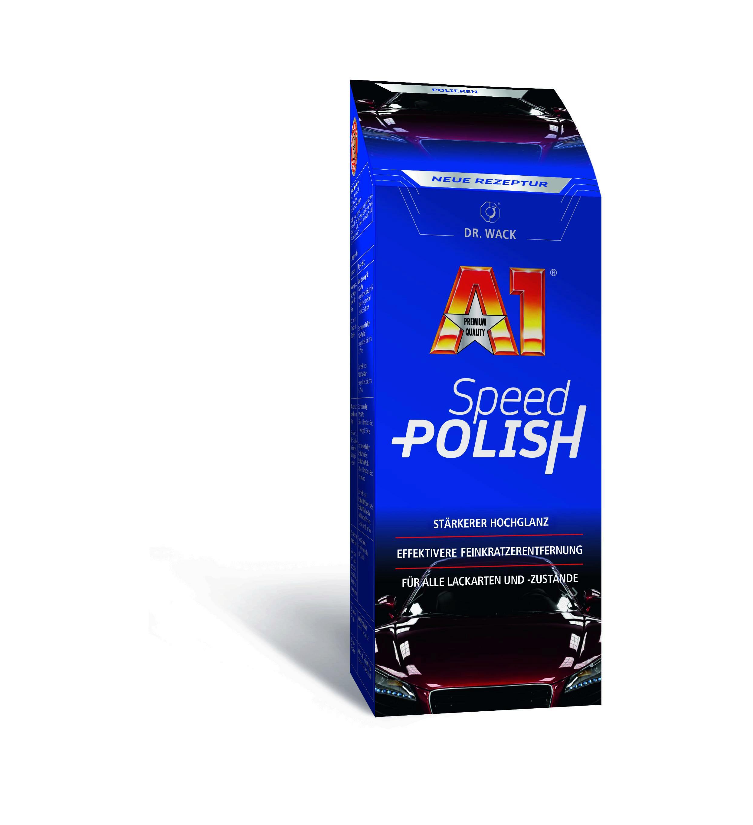 DR.Wack A1 Speed Polish Politur Lack Pflege Lack Versiegeleung