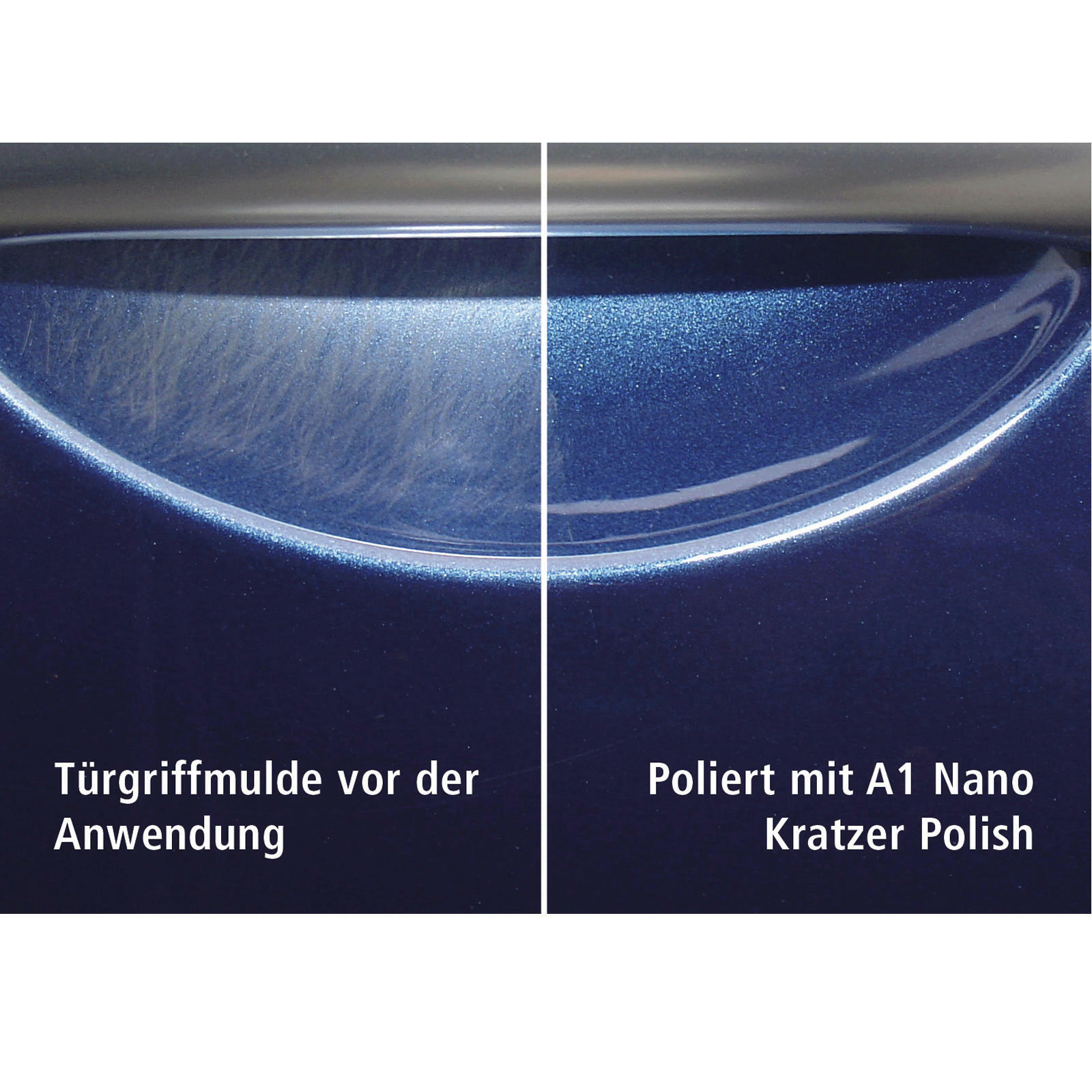 Dr. Wack A1 Nano Kratzer Polish 50 ML Nano-Tech-Politur brillante Oberfläche
