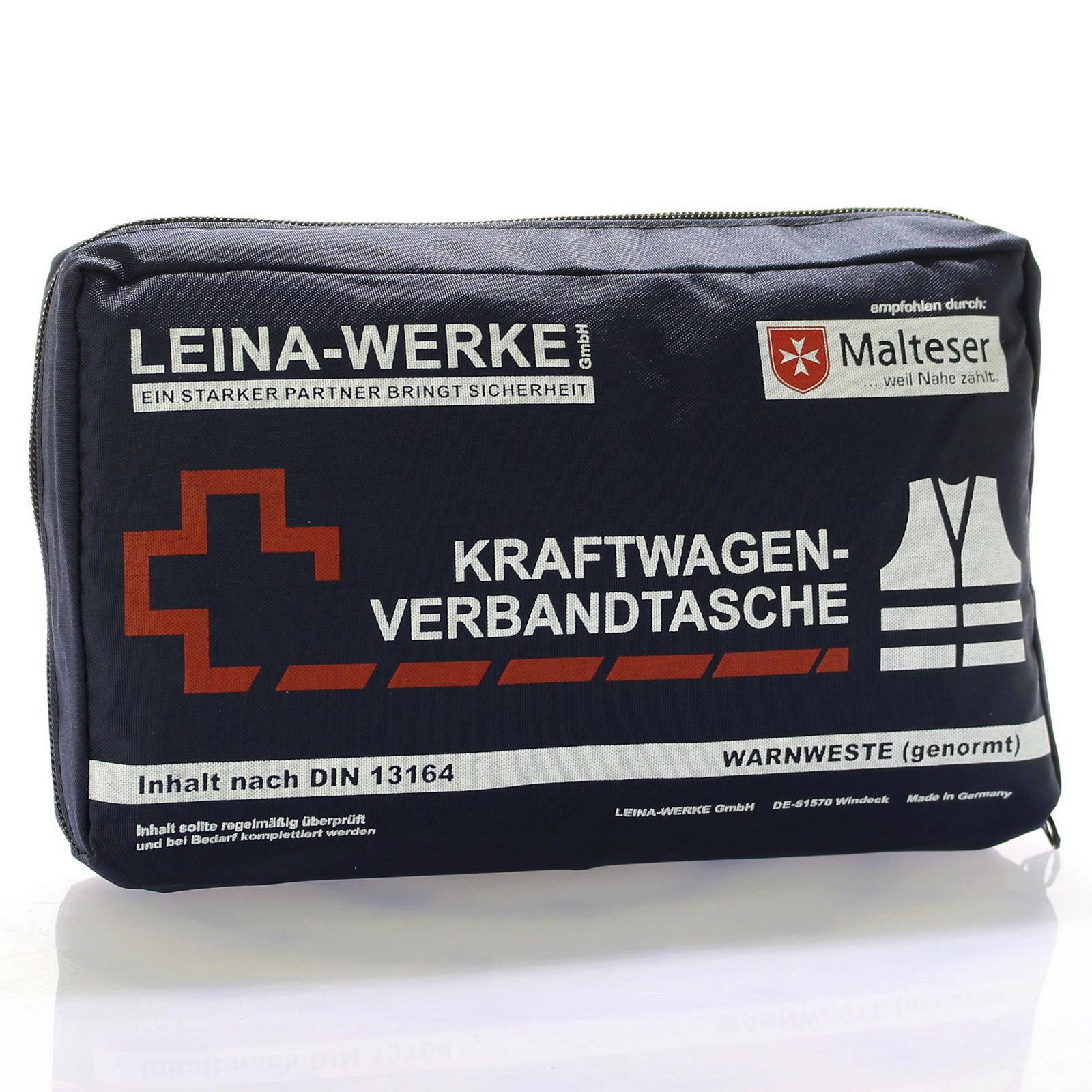 Verbandtasche + Warnweste