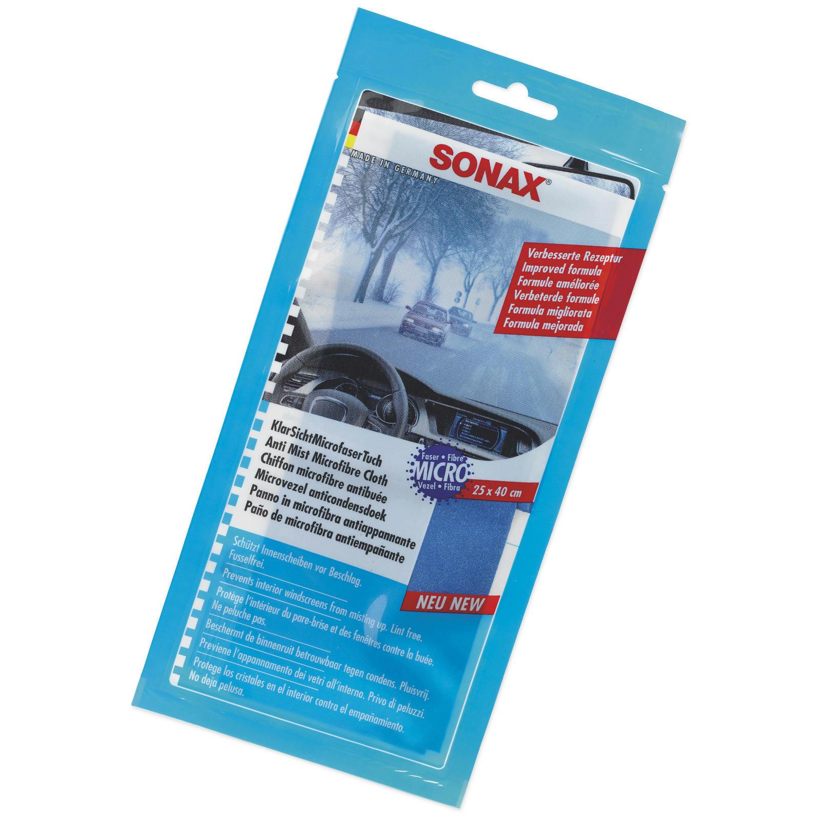 SONAX KlarSichtMicrofaserTuch