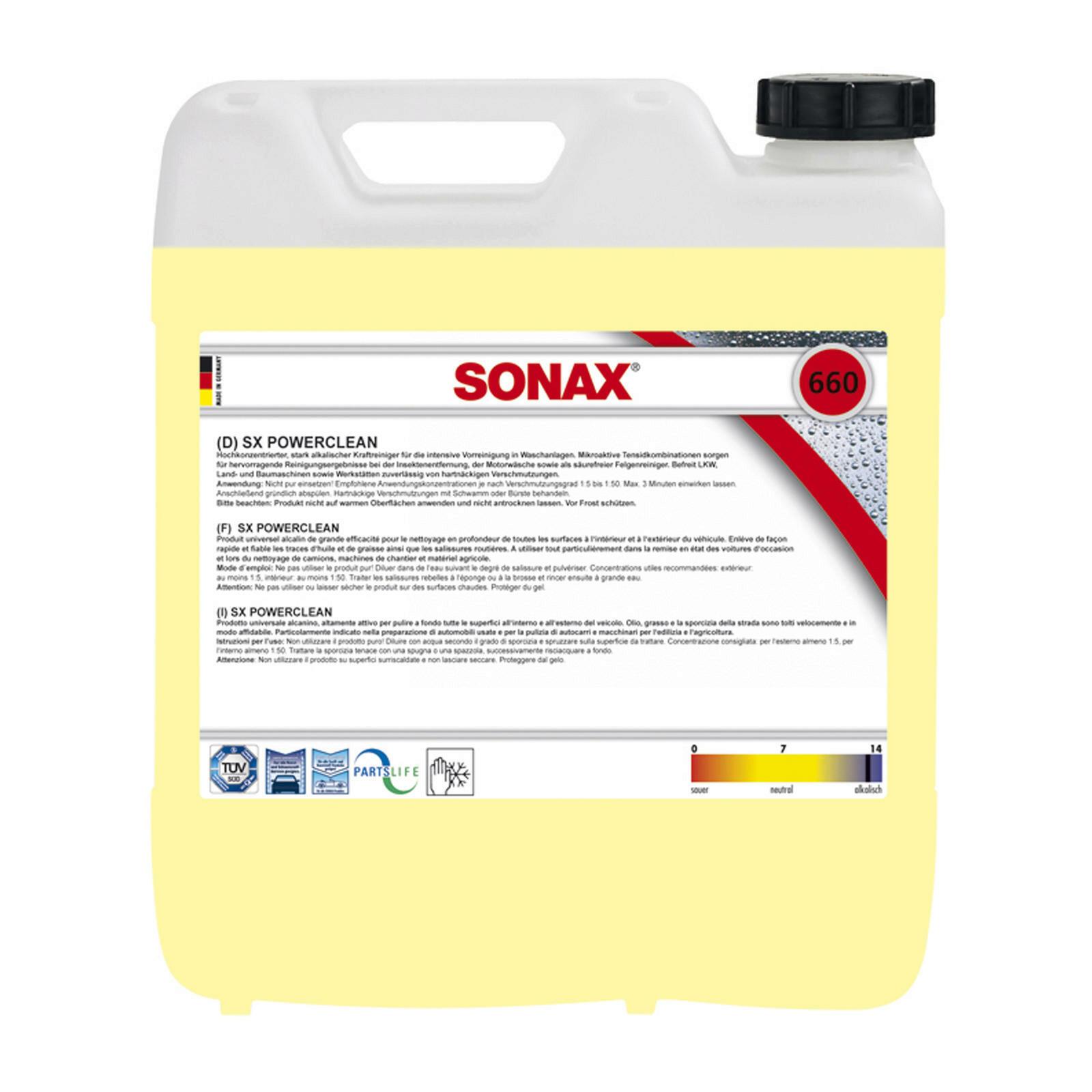 SONAX SX PowerClean 10L
