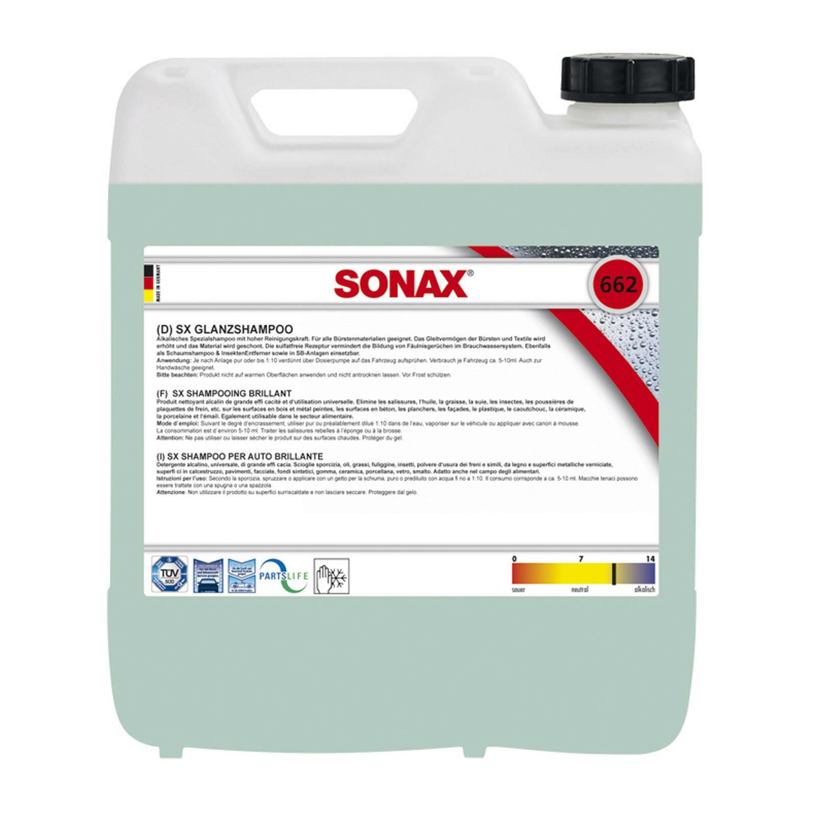 SONAX SX GlanzShampoo 10L