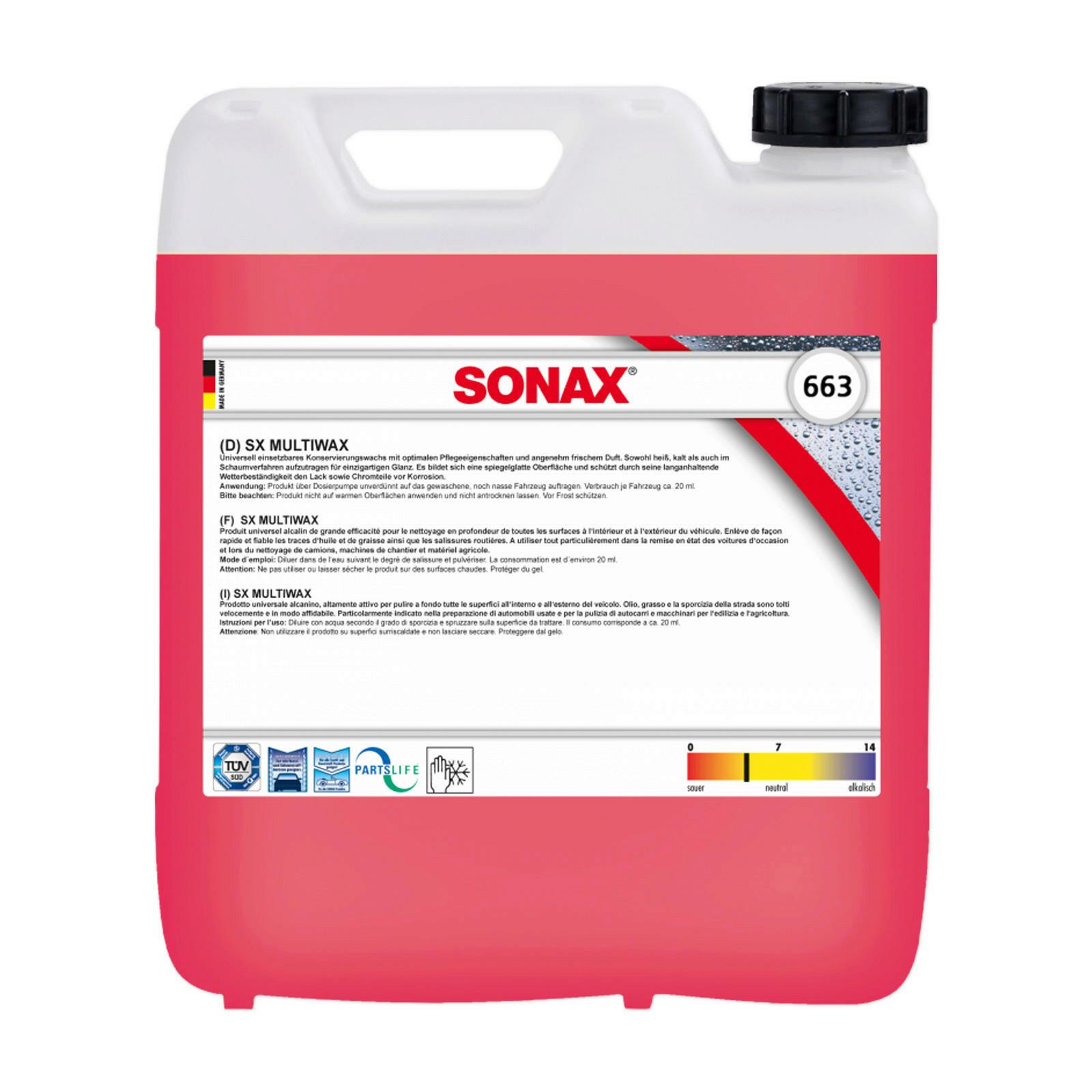 SONAX SX MultiWax 10L