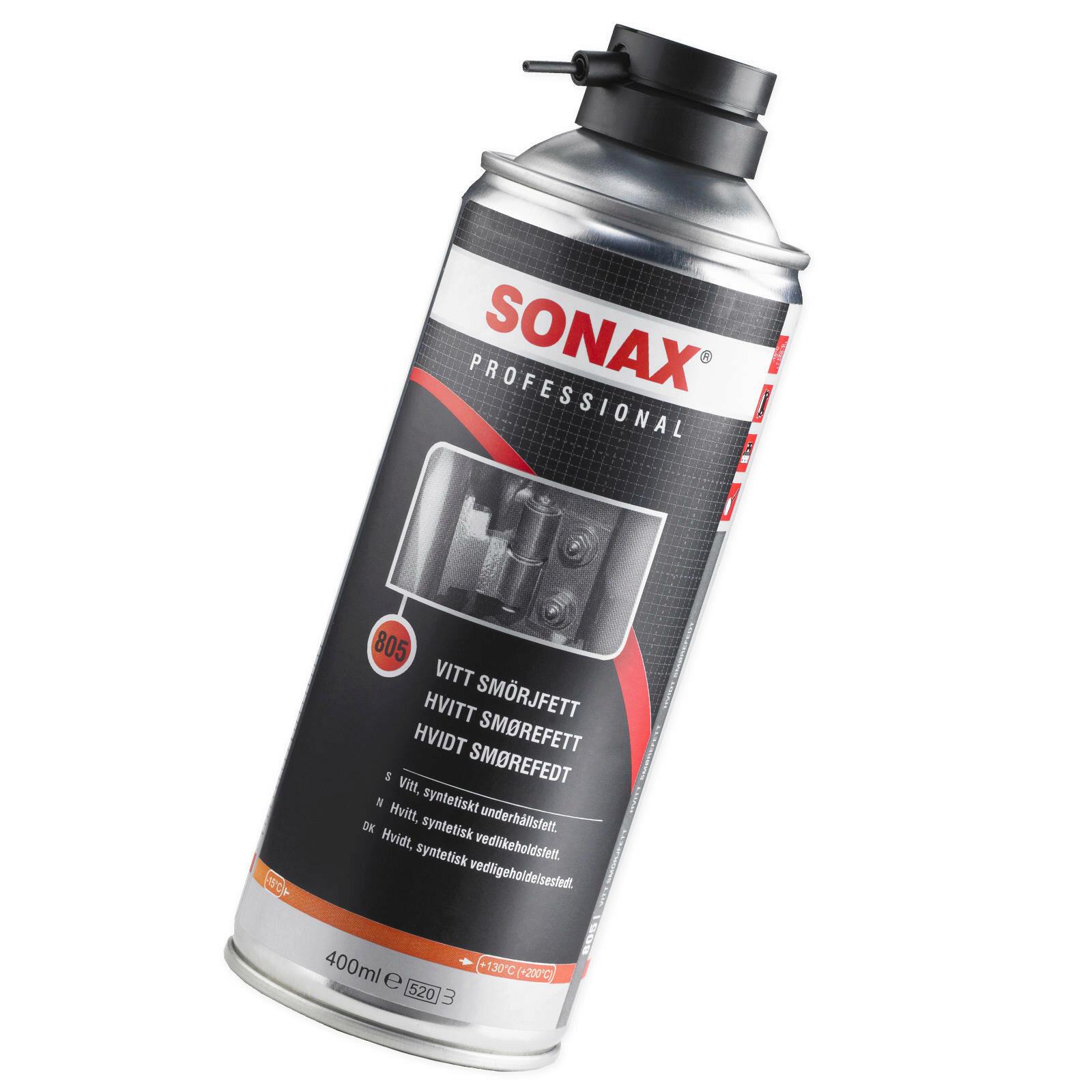 SONAX PROFESSIONAL Weißes WartungsSpray 400ml