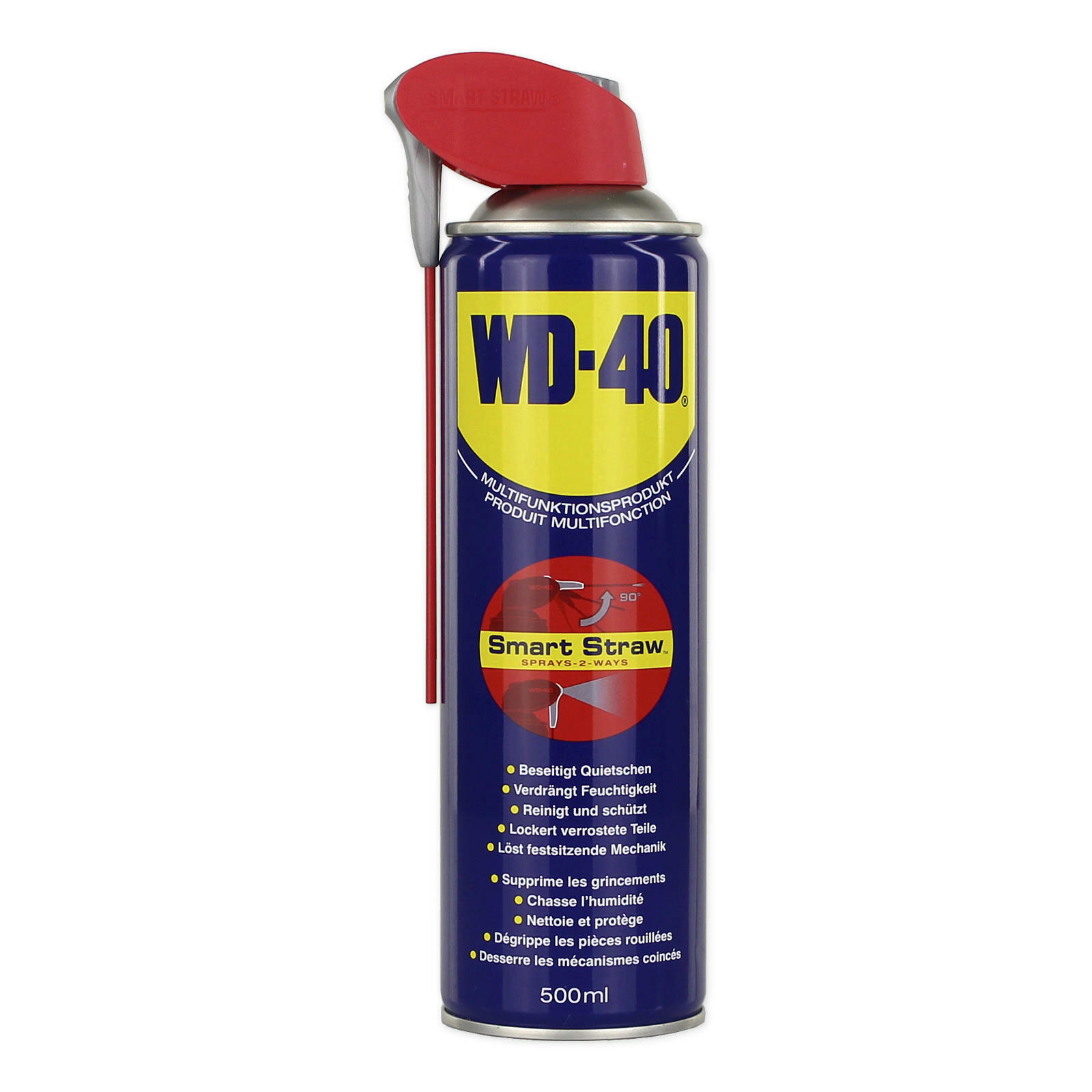 original wd 40 500ml smart straw vielzweck spray rostl ser multifunktions l ebay. Black Bedroom Furniture Sets. Home Design Ideas
