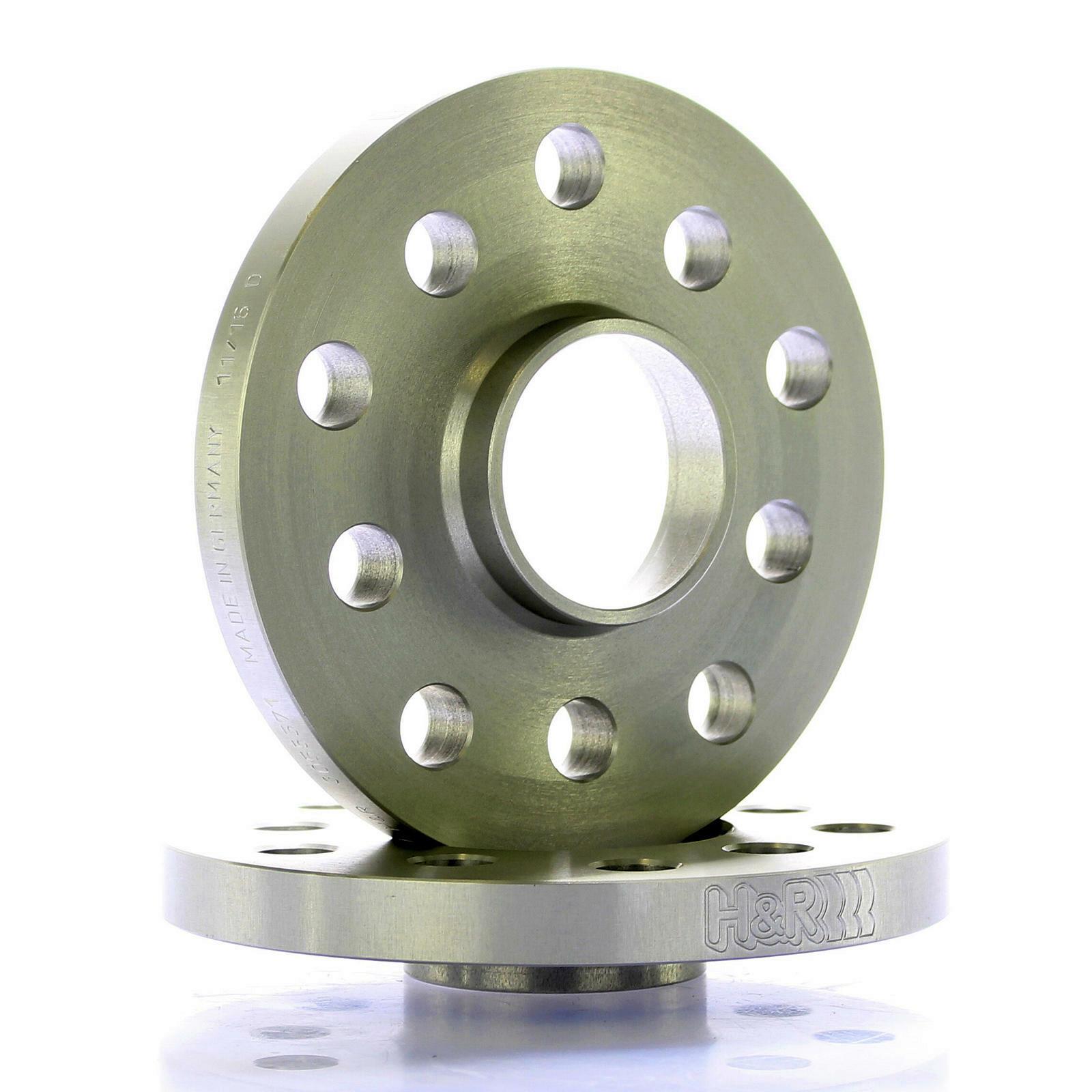 H&R DR Spurplatten Spurverbreiterung Distanzscheiben/Ringe 5x112 30mm // 2x15mm