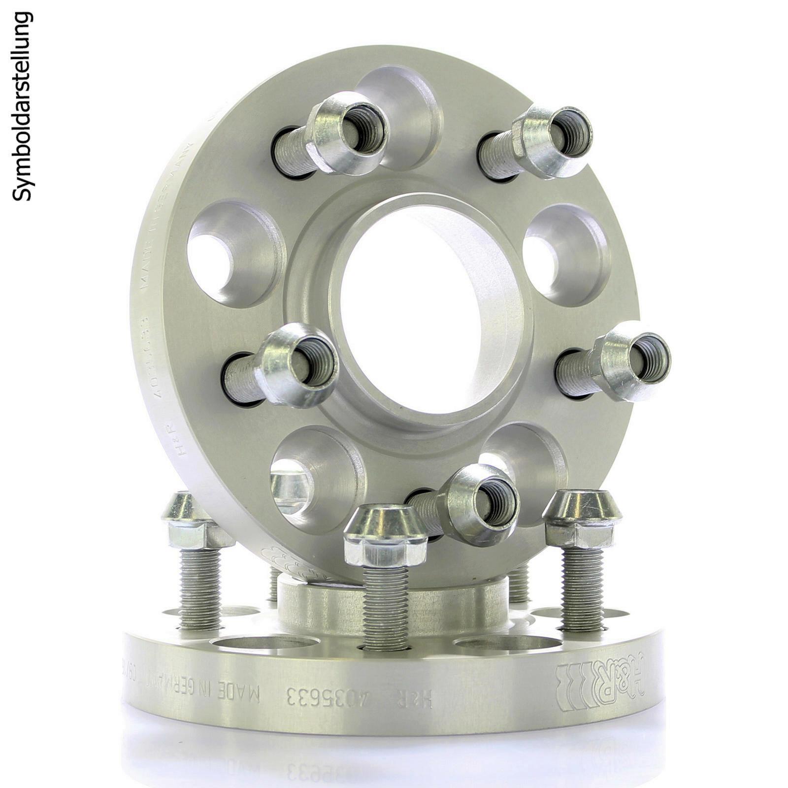 H&R DRM Spurplatten Spurverbreiterung Distanzscheibe 5x108 40mm // 2x20mm