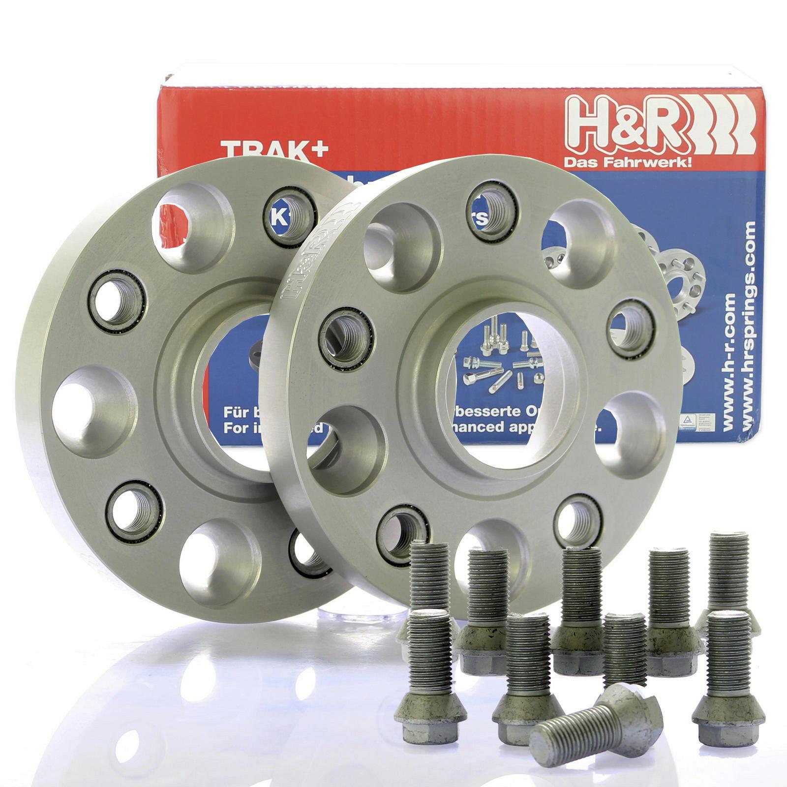 H&R DRA Spurplatten Spurverbreiterung Distanzscheibe 5x112 40mm // 2x20mm