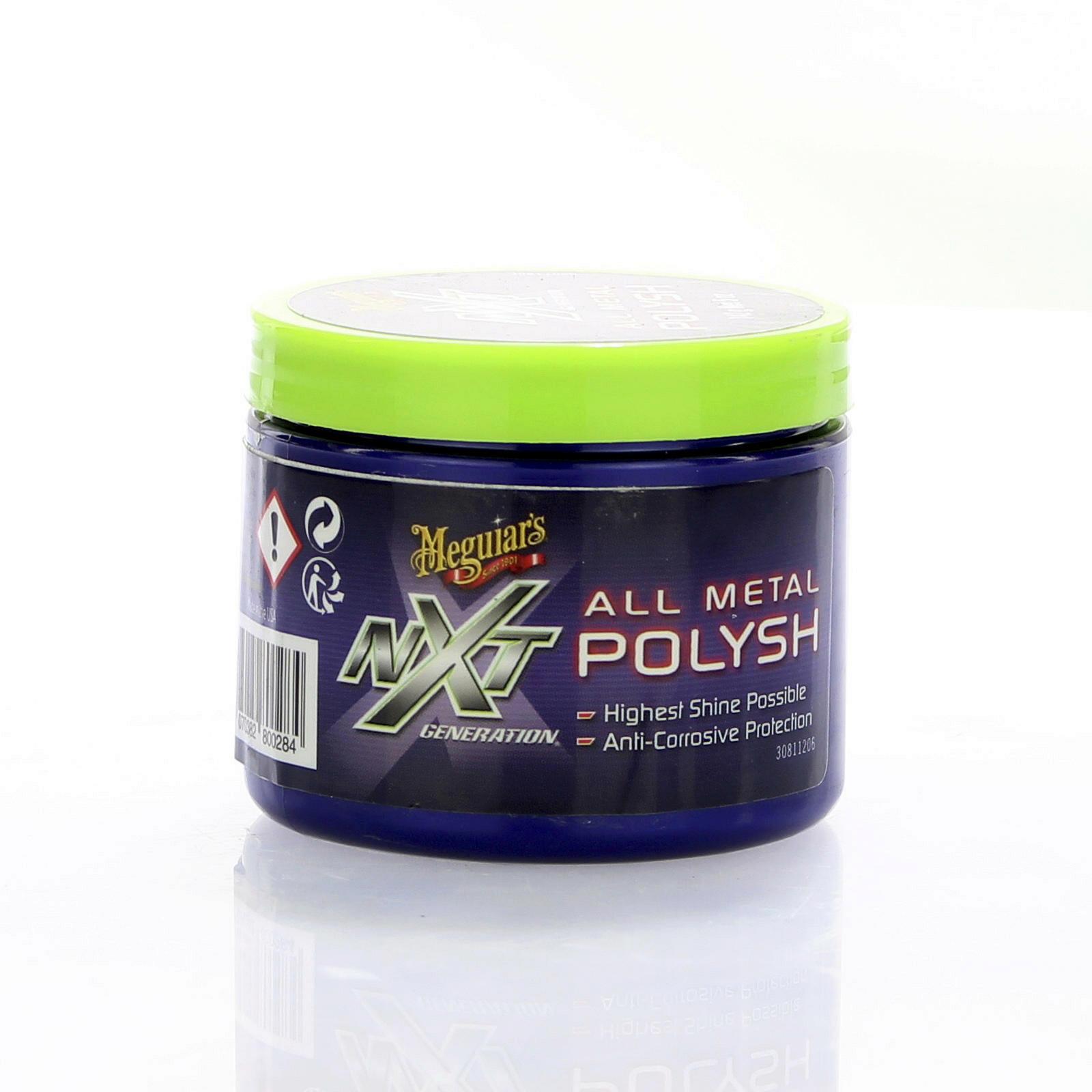 Meguiars NXT Metal Polysh 142g Politur
