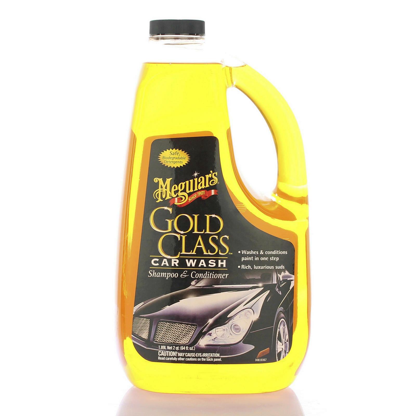 Meguiars Gold Class Shampoo 1,89l Lackreiniger