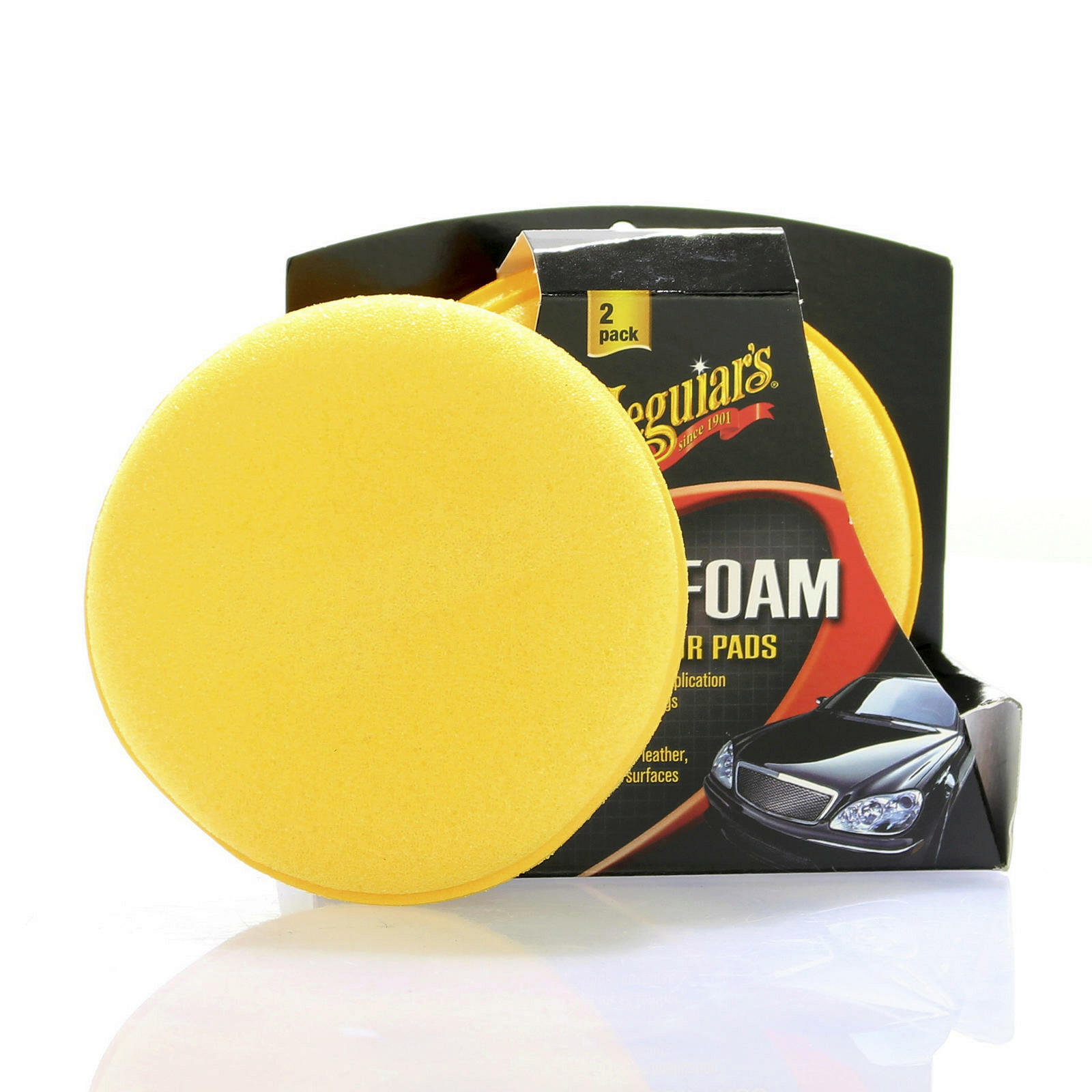 Meguiars Soft Foam Applicator 2 Pads Schwamm