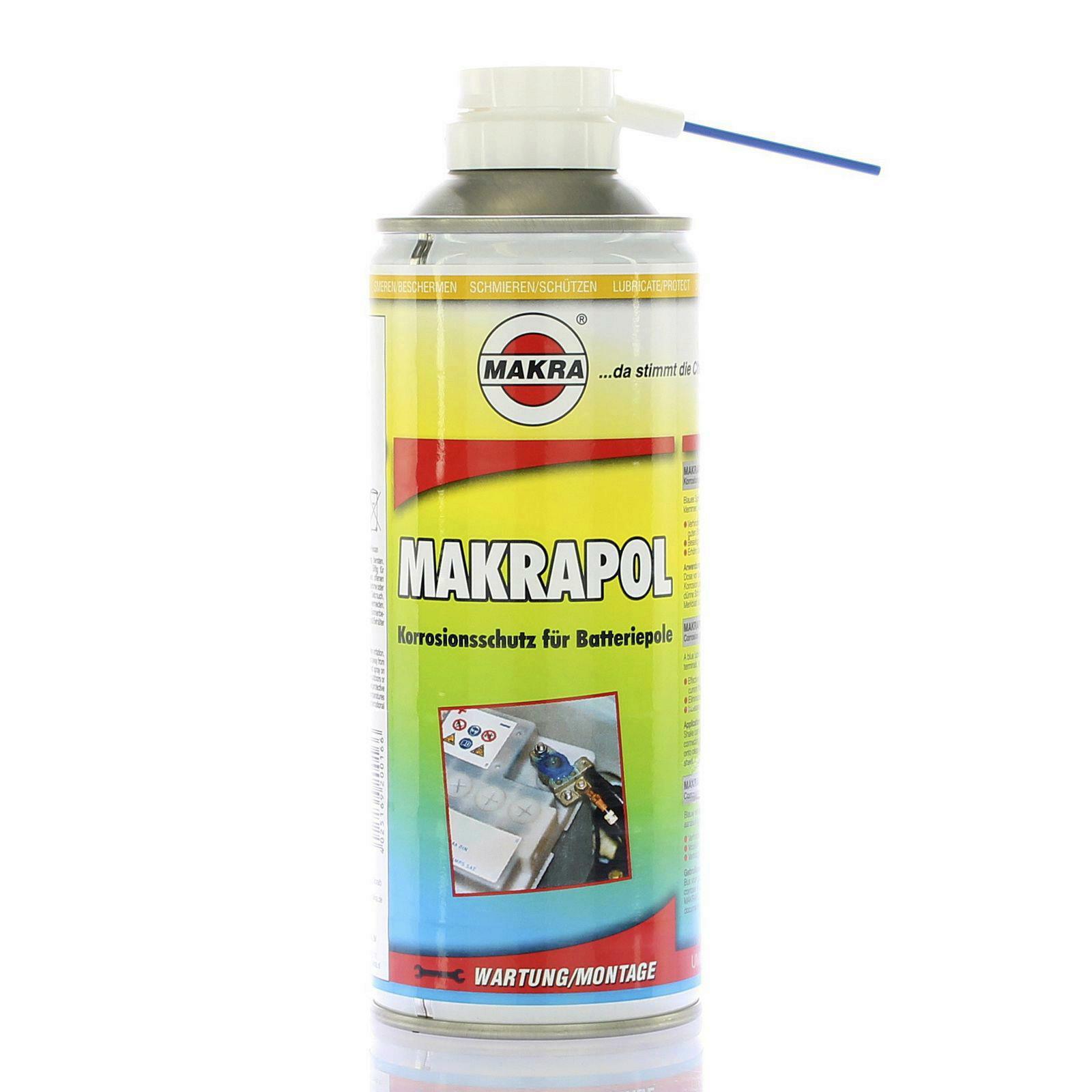 MAKRAPOL 400ml Polfett Batteriepolfett blau